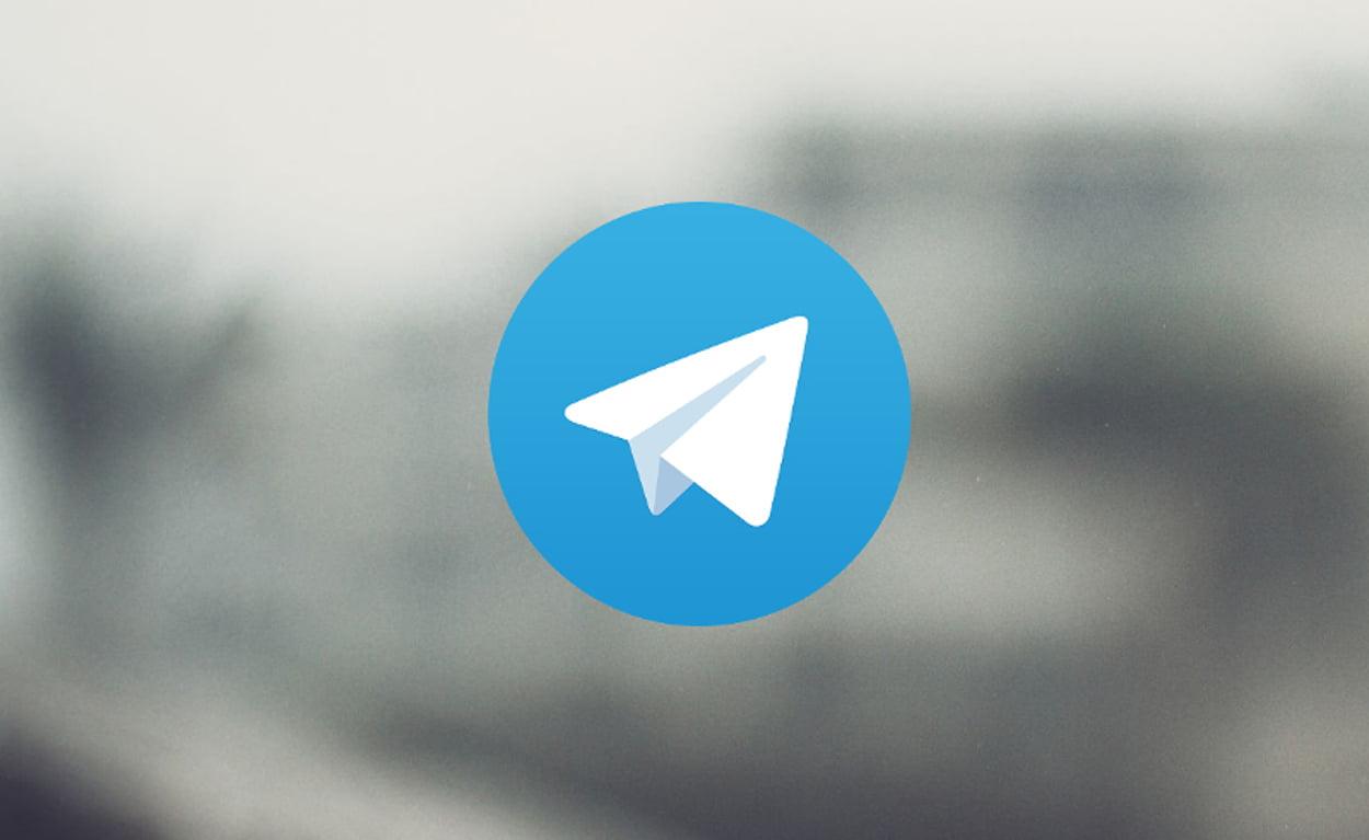 Logotipo de la app de mensajería Telegram