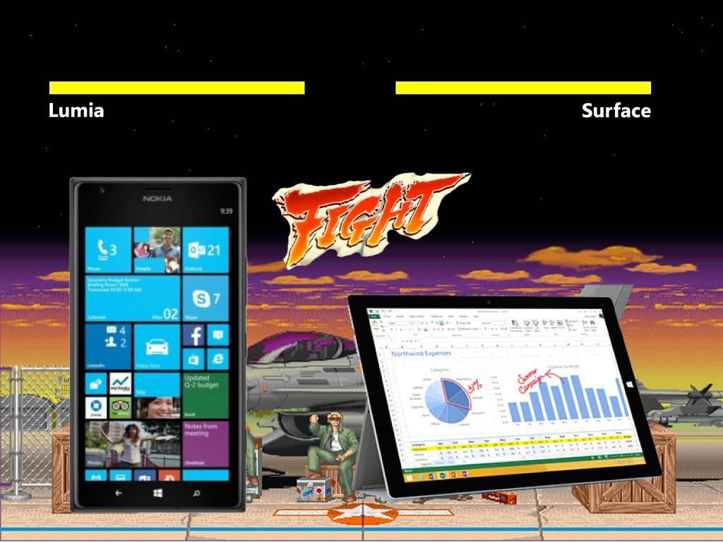 Surface vs Lumia