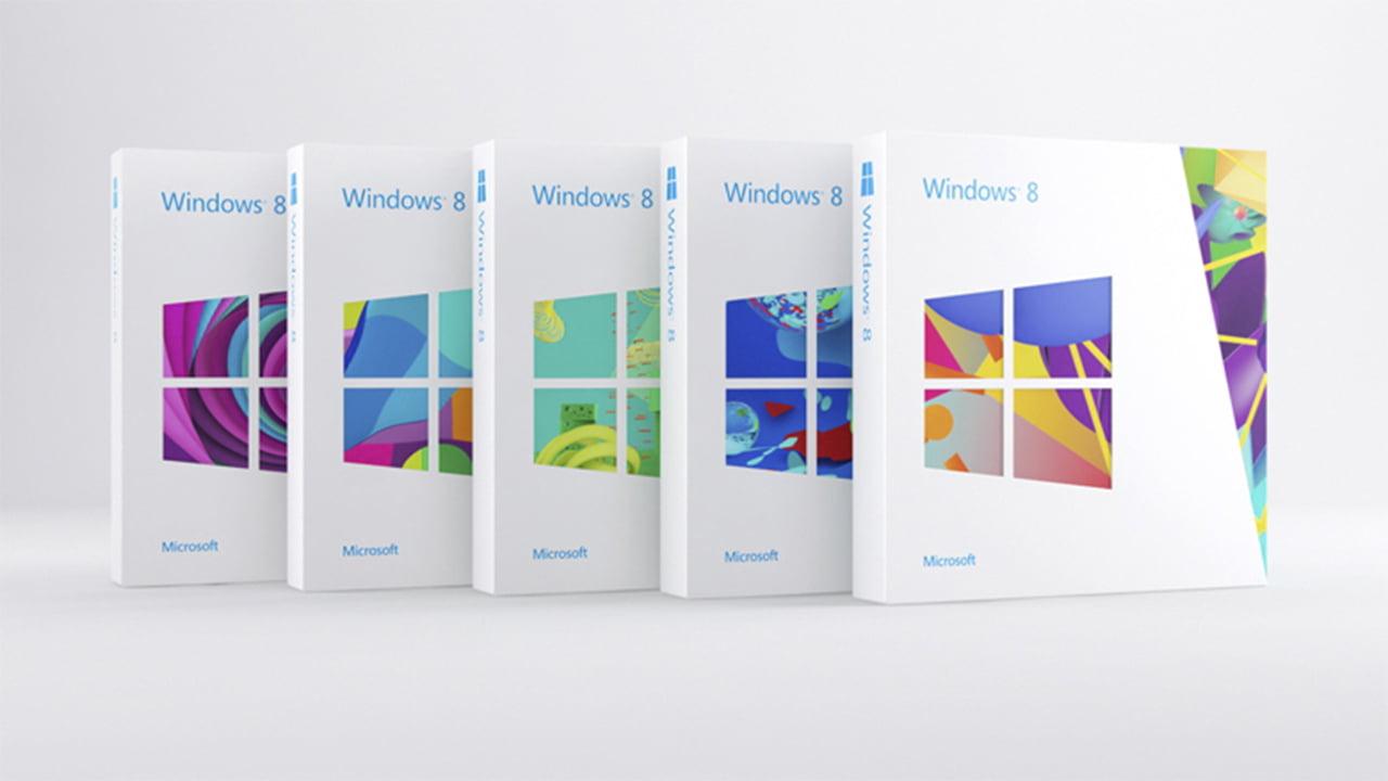 Windows 8 caja