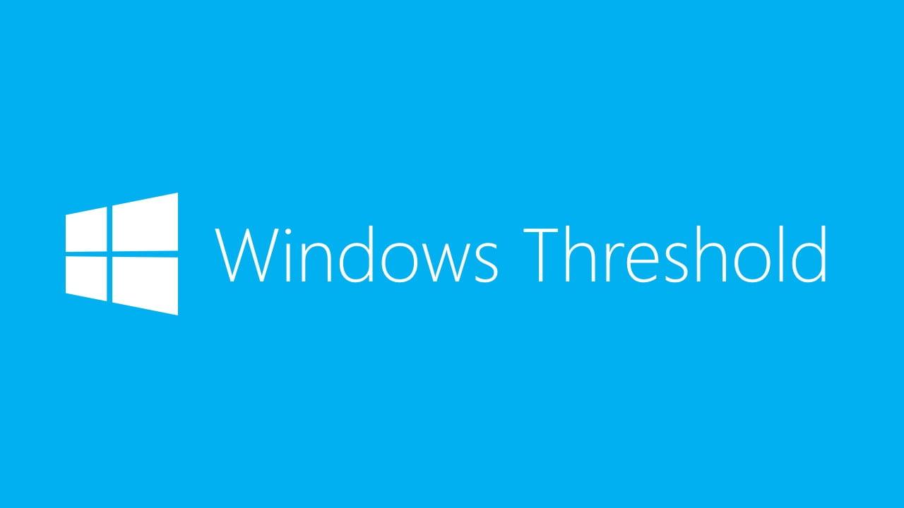 Threshold Microsoft Insider