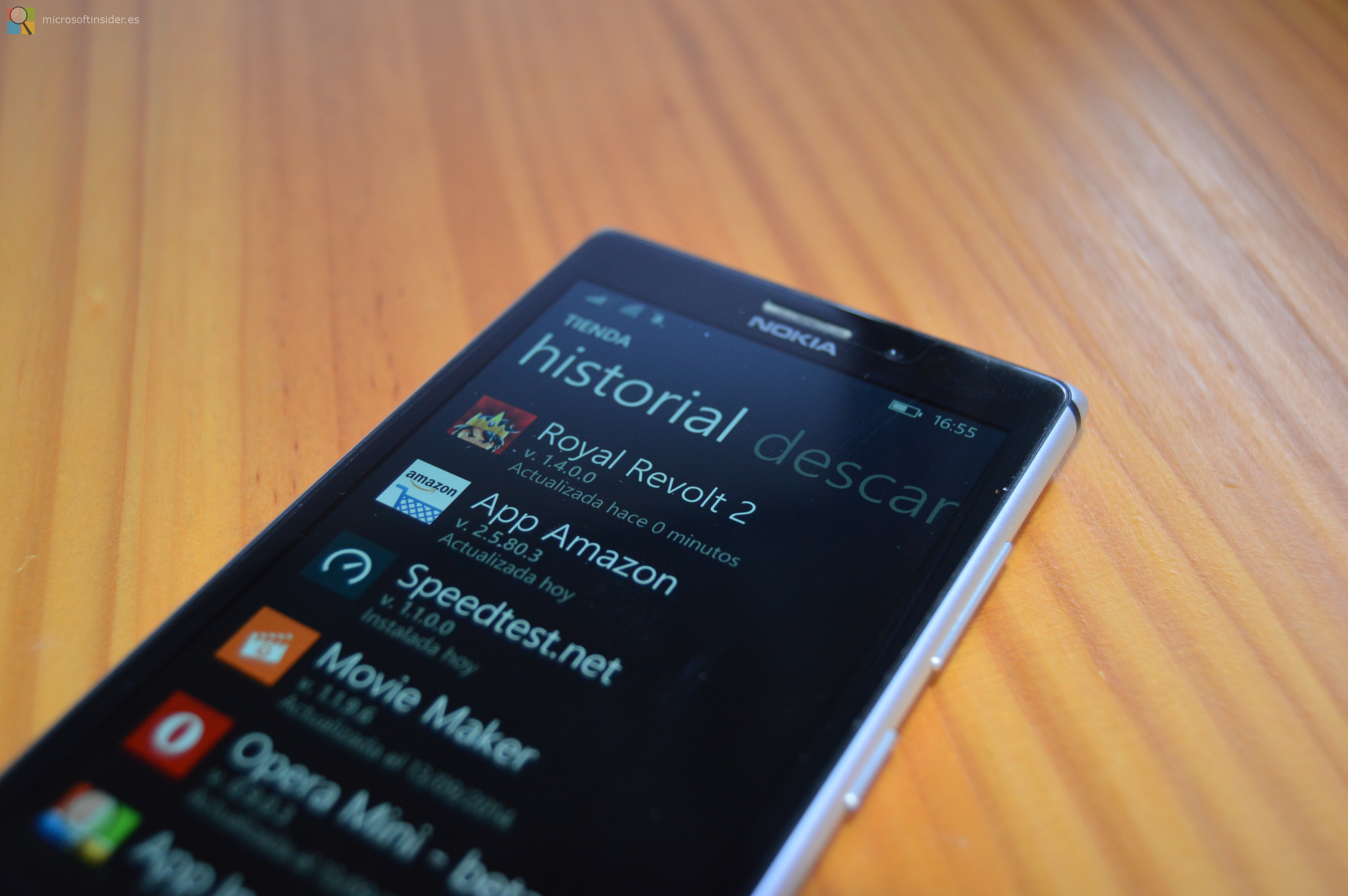 Actualizaciones Windows Phone