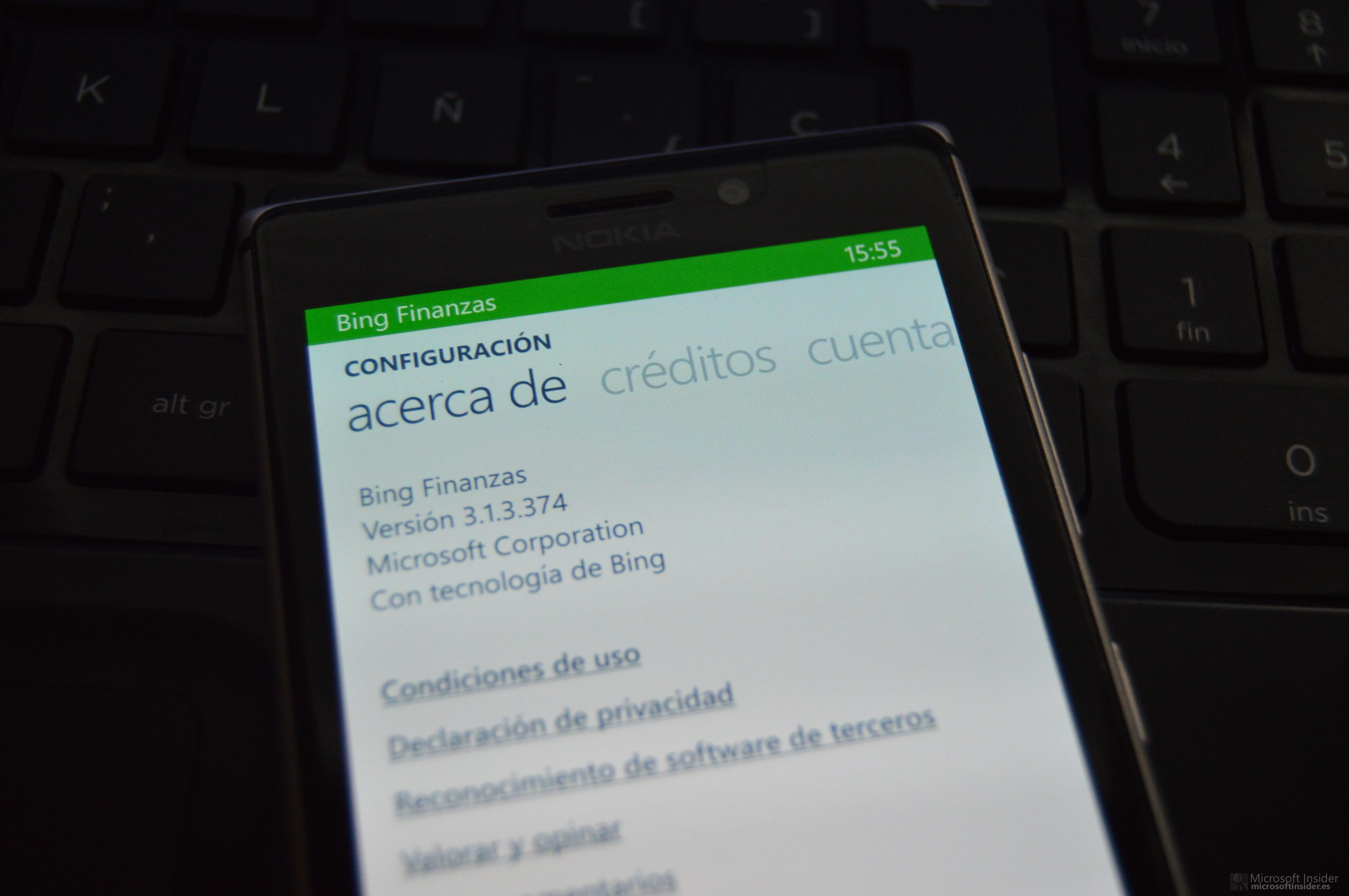 Aplicaciones de Bing a MSN