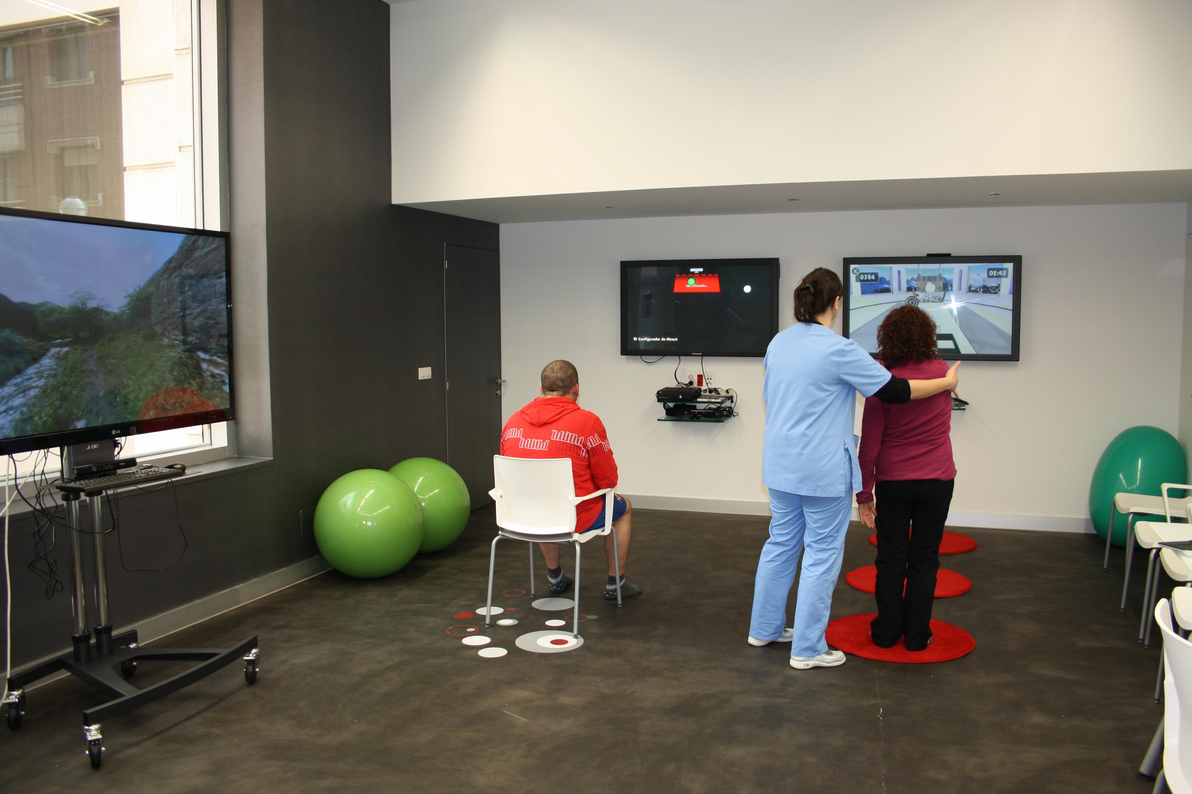 Virtual Rehab y Kinect