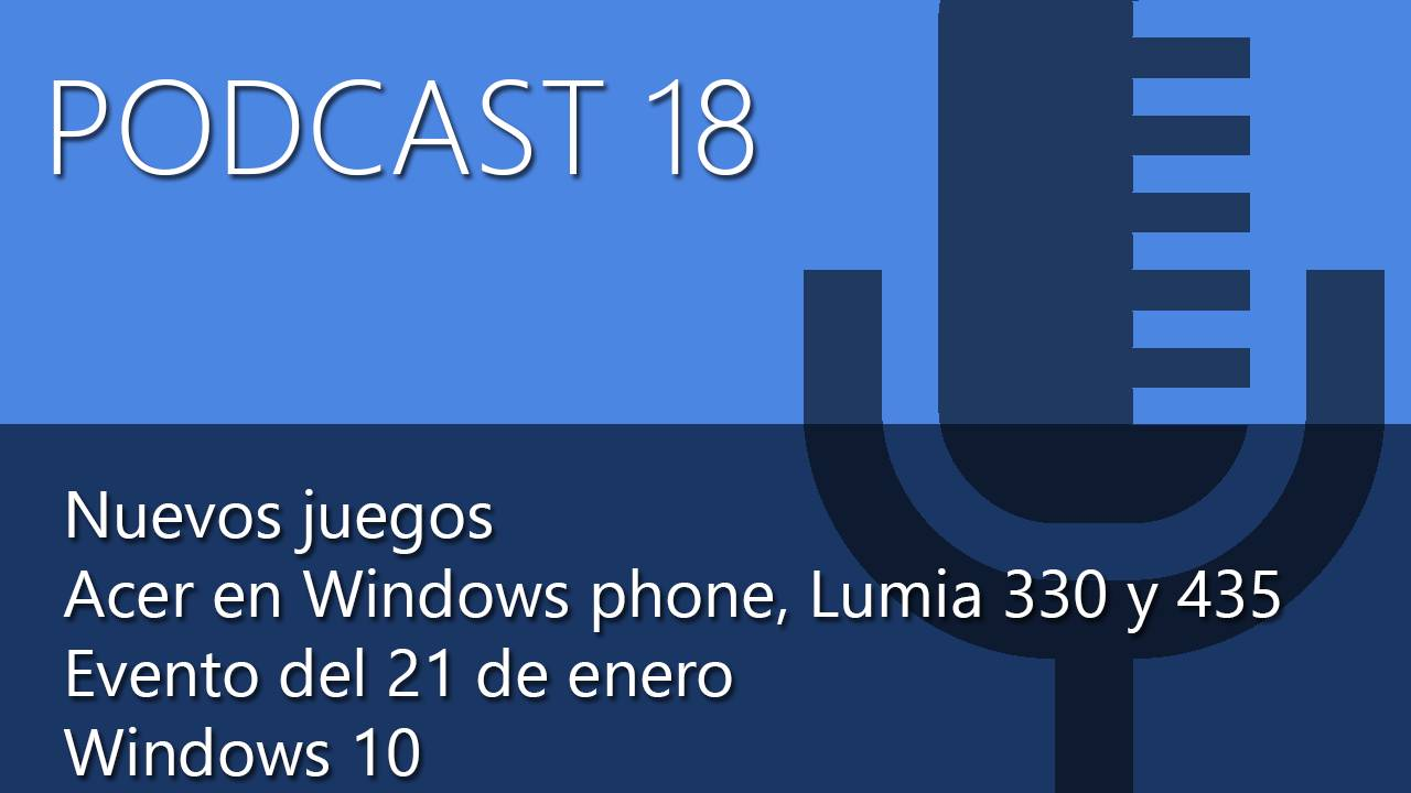 El Podcast 18 de Microsoft Insider