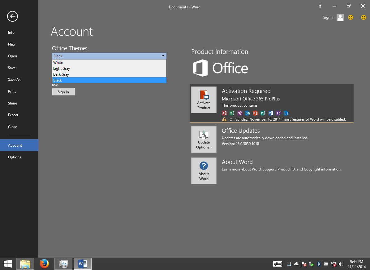 Office 2016 ya disponible en Preview