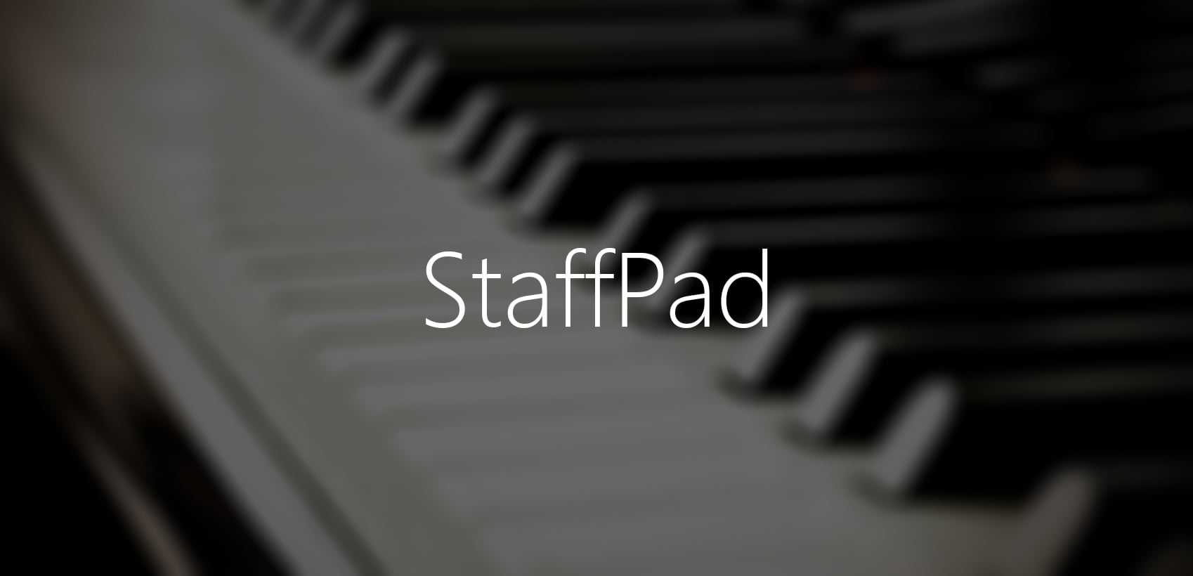 StaffPad para Windows