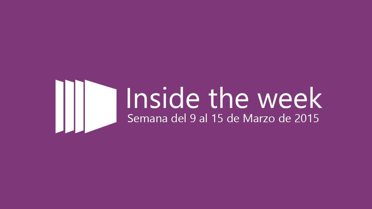 Inside the week