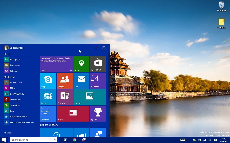 Windows 10 tendrá mejor interacción táctil