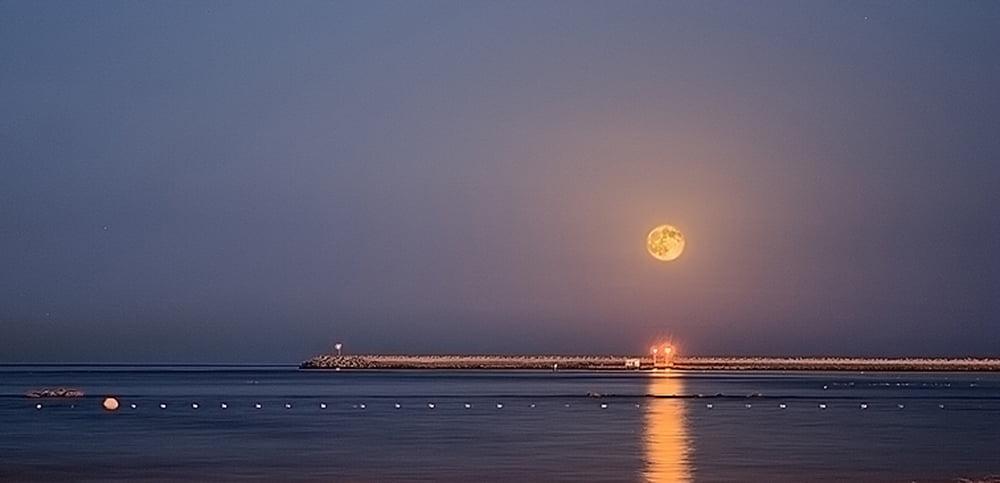 Panorámica Luna llena