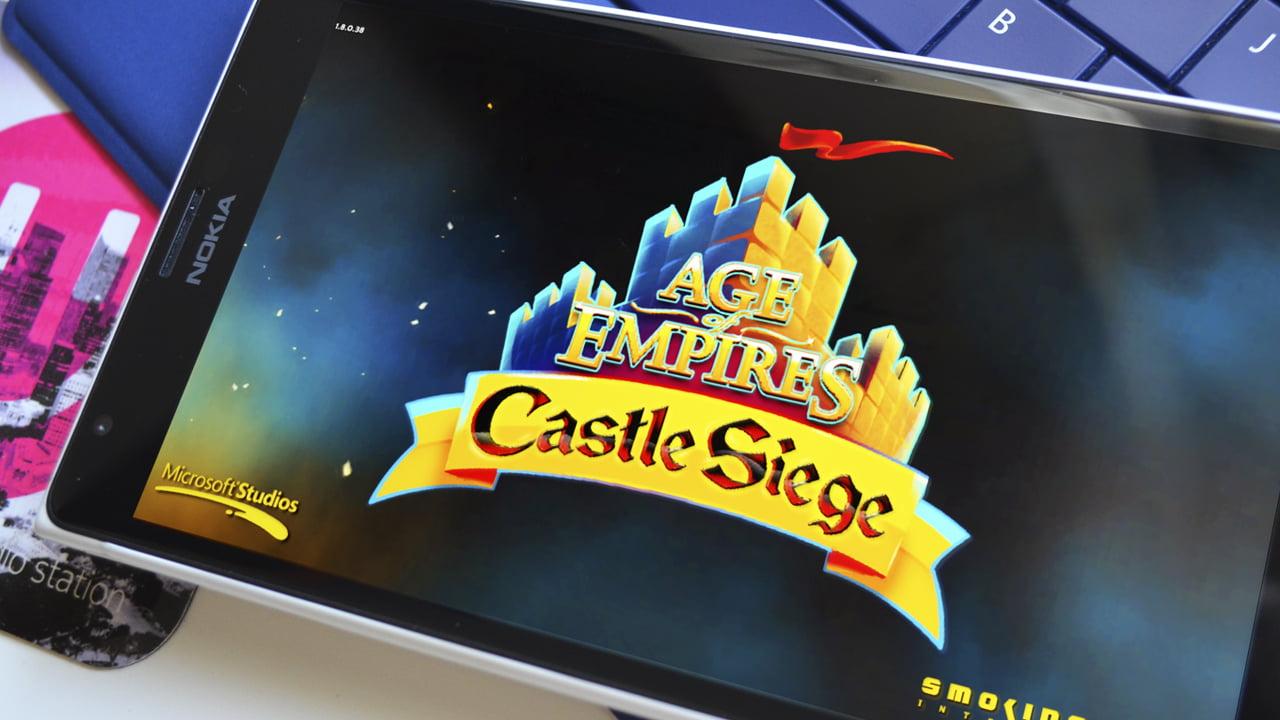 Jugando Age of Empires en un Lumia 1520