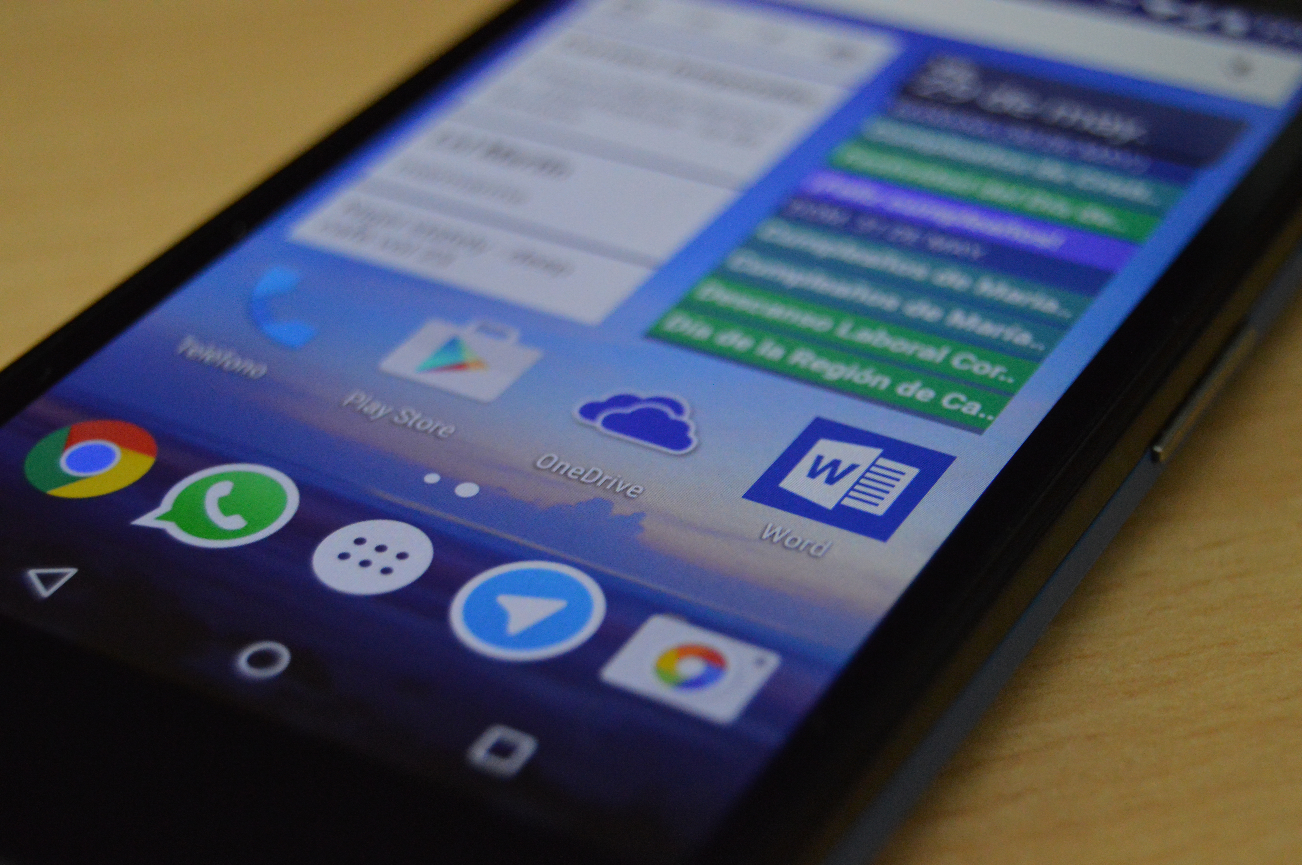 Con la nueva actualización de OneDrive para Android tienes soporte para Android Wear y visualización de PDFs inapp