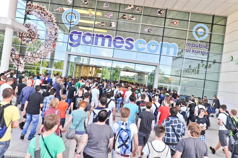 Entrada de la GamesCom