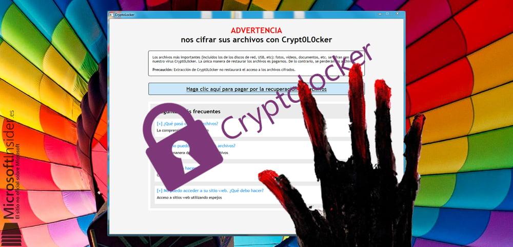Cryptolocker por Microsoft Insider
