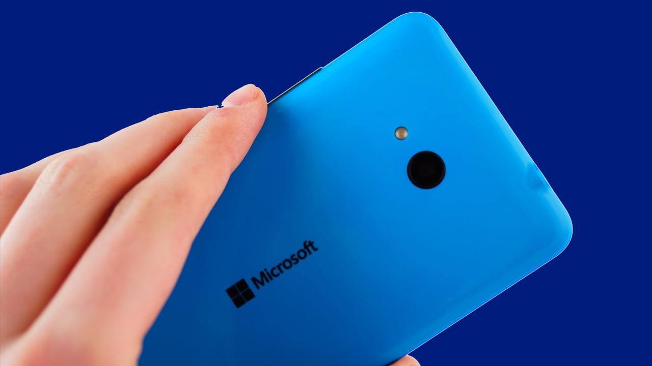 Lumia 640 XL de Microsoft