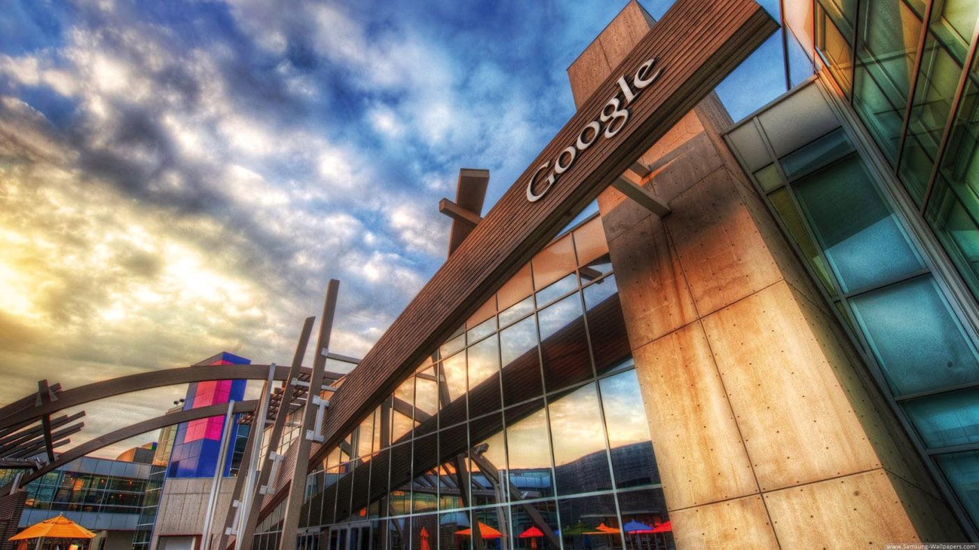 Un edificio perteneciente a la sede central de Google en California