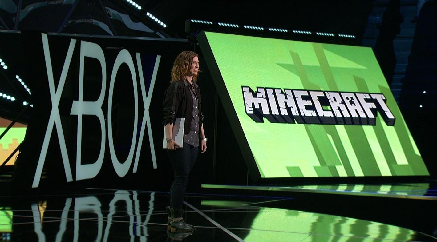 Presentación de Minecraft para HoloLens