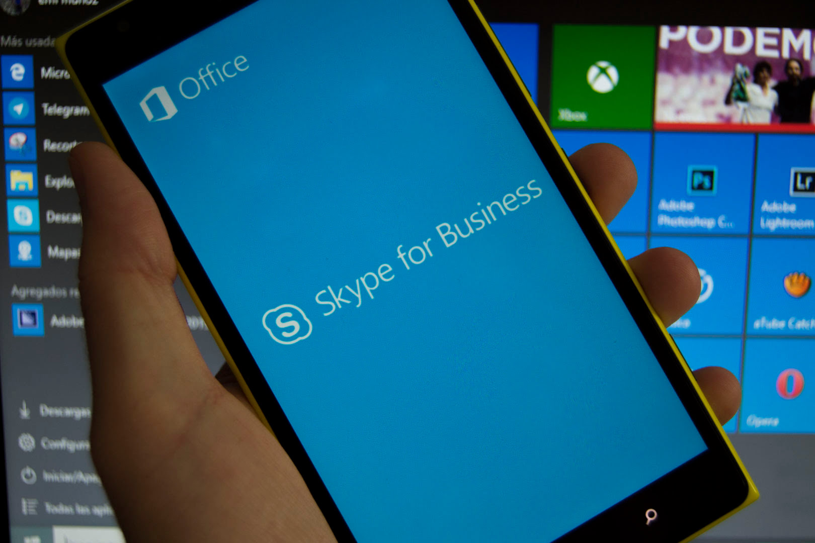 Ya está disponible Skype Empresarial para Windows Phone