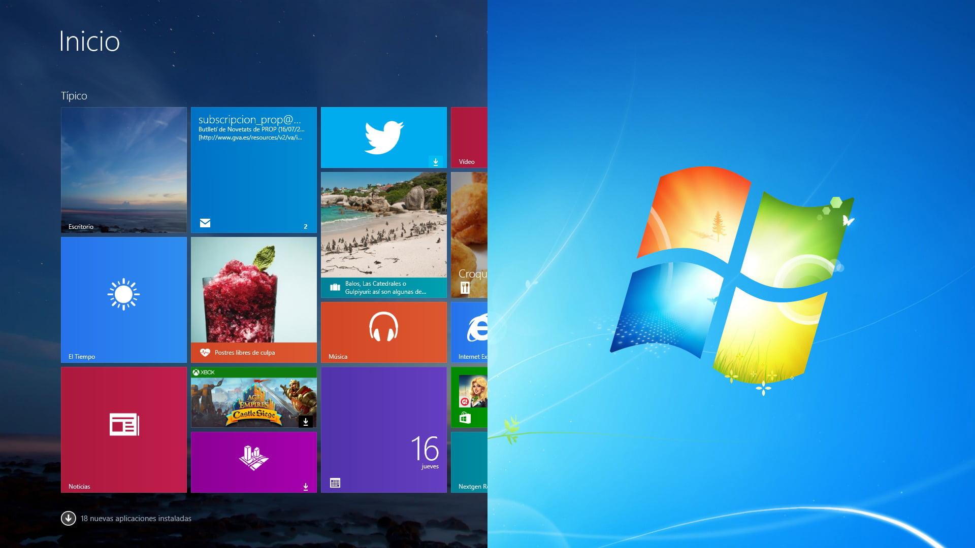 Tutorial volver a Windows 7 o Windows 8