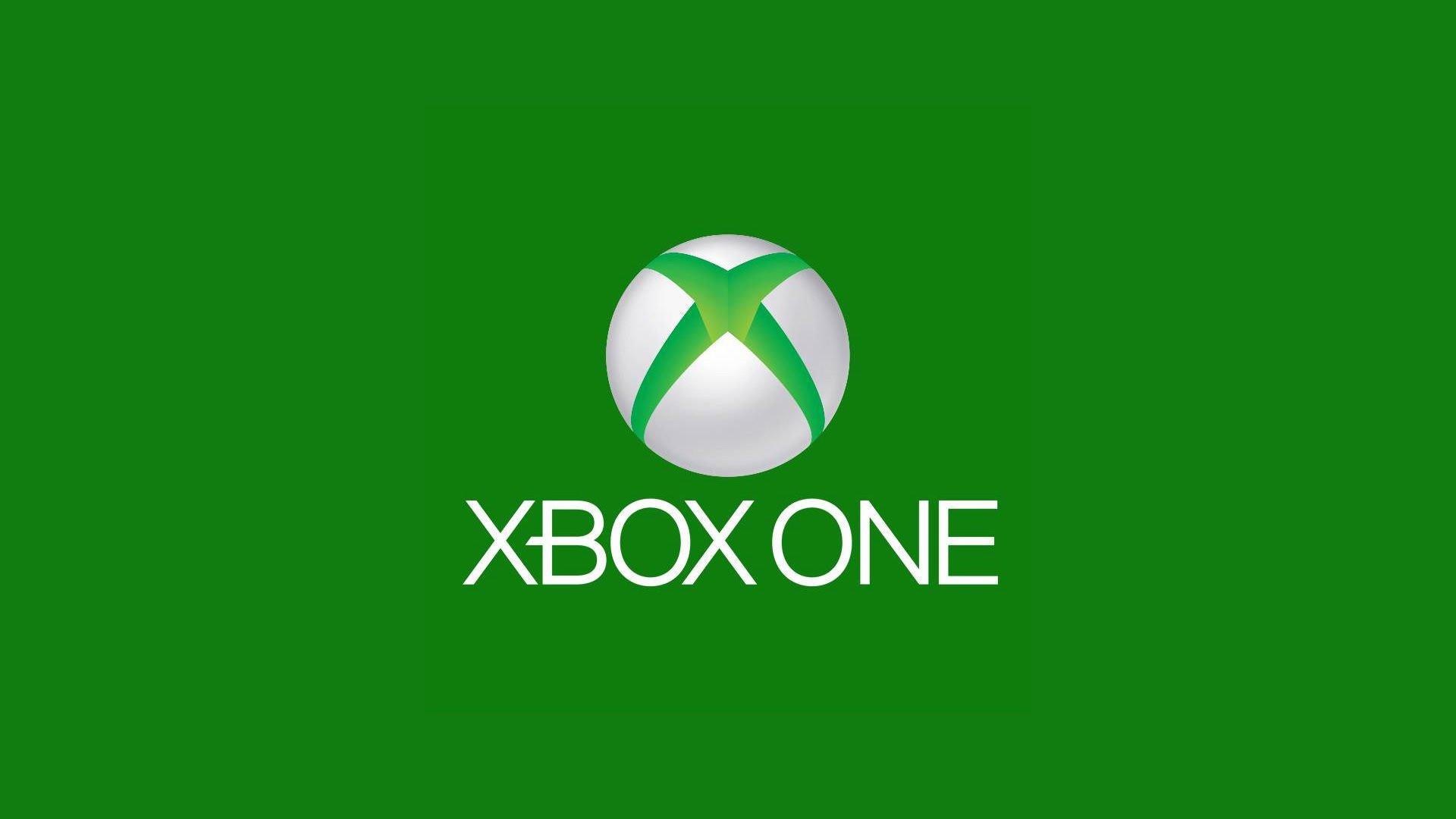 Logo de Xbox One sobre fondo verde