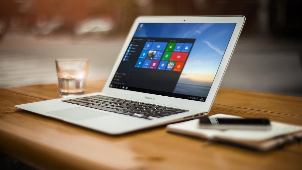 Macbook air con Windows 10 instalado