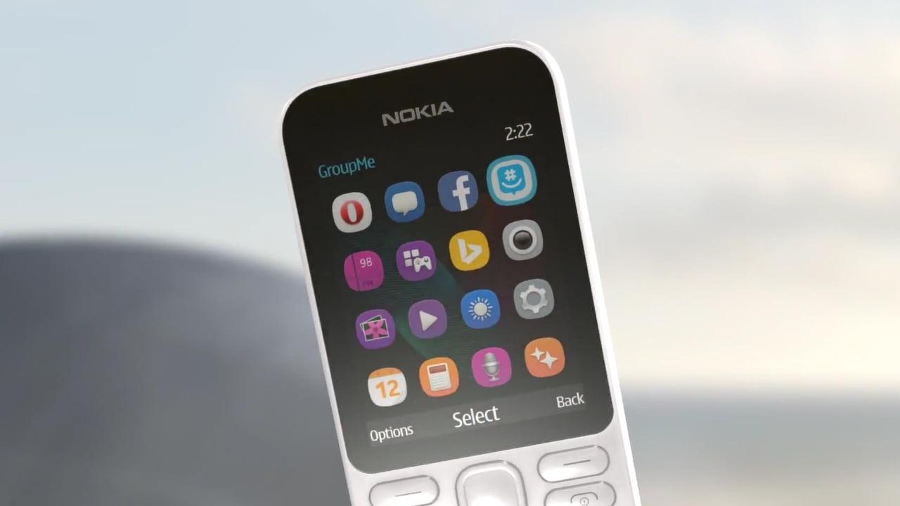 El nuevo Nokia 222