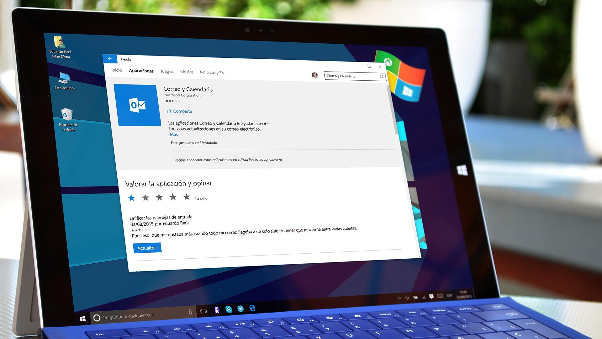 Aplicación universal de Windows 10