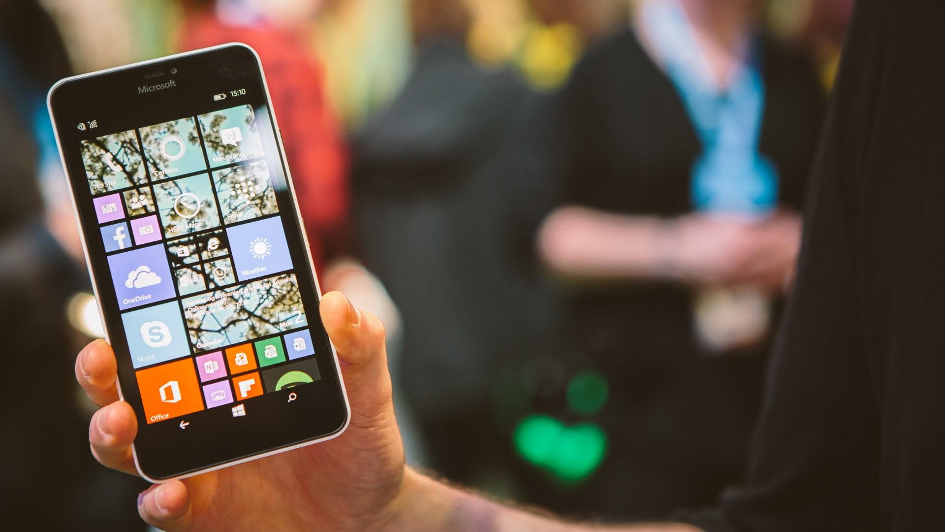 Anuncio Lumia 640