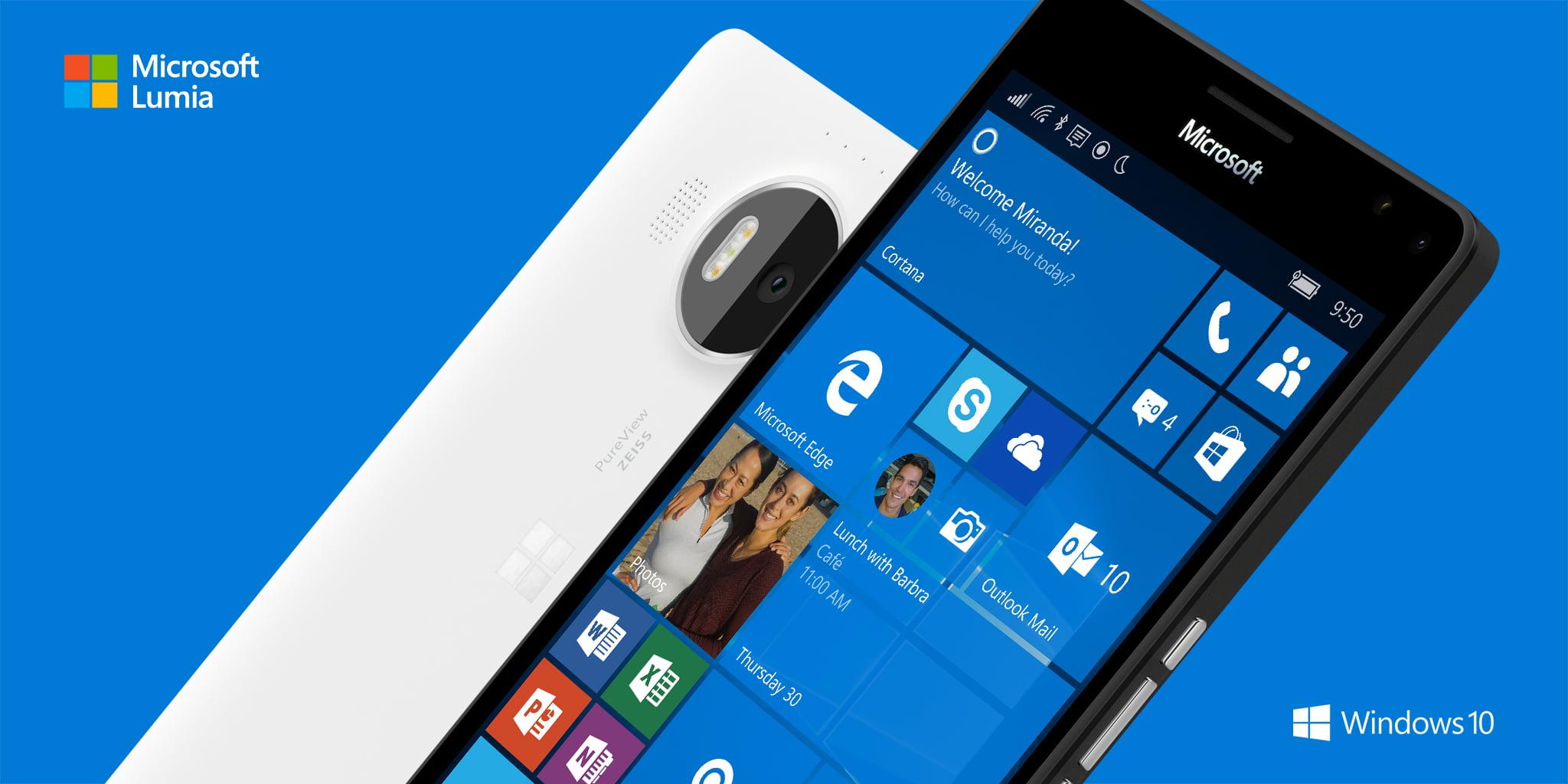 Lumia 950 XL blanco