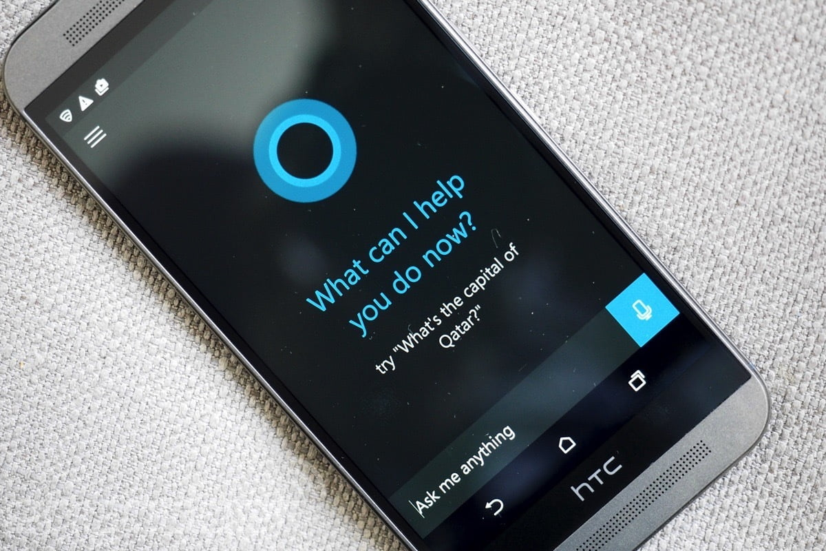 Cortana en un HTC One