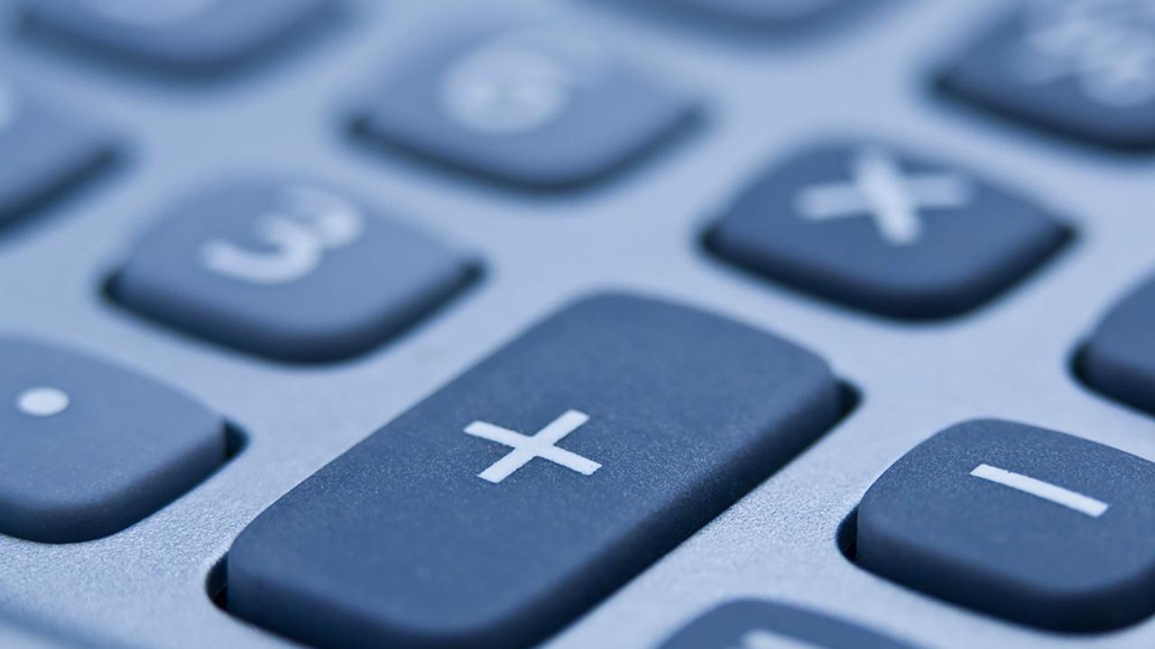 Botón suma de la calculadora