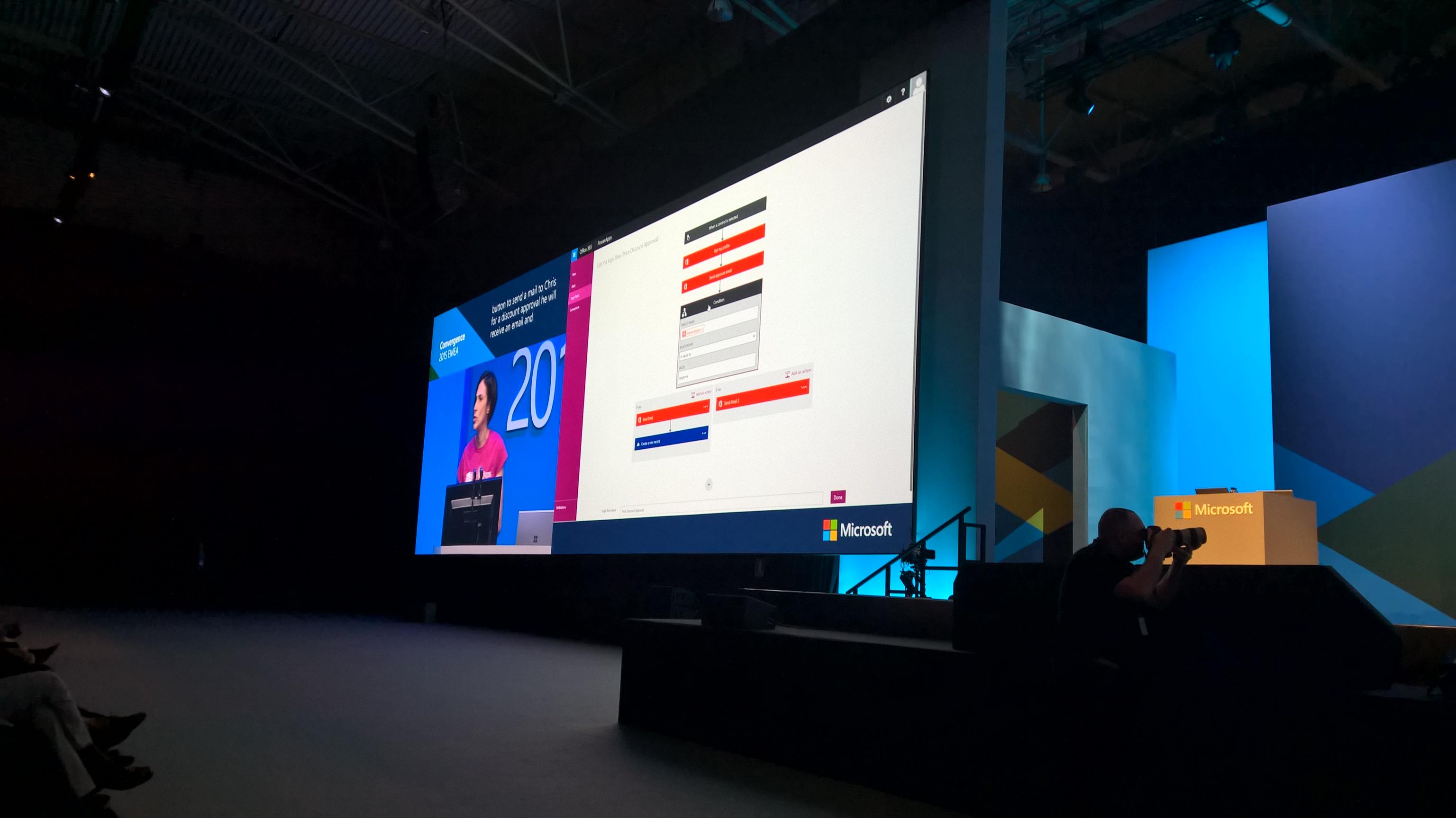Presentación PoweApp de Microsoft