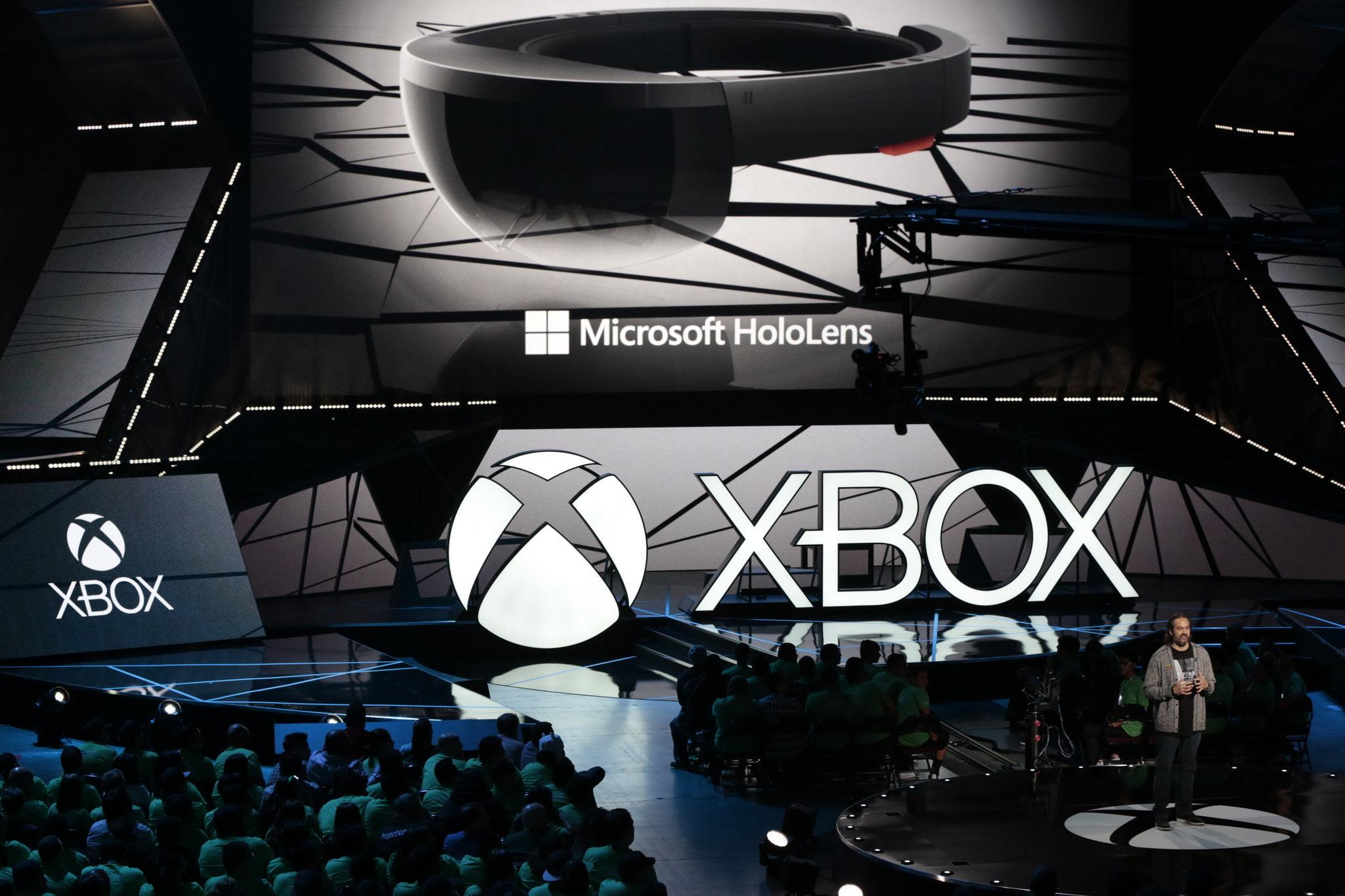 Presentación de Xbox con las Hololens