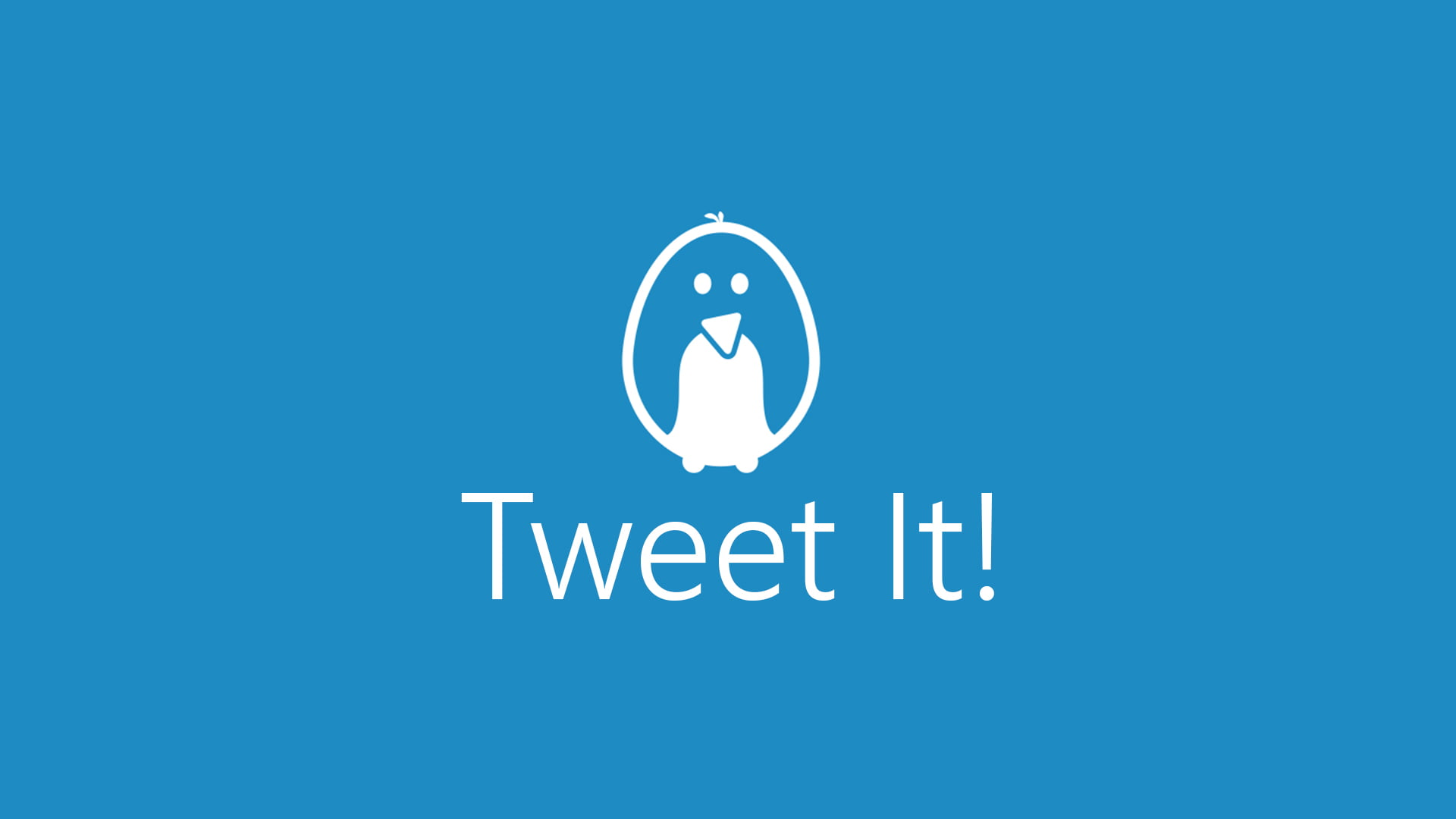 Logo de Tweet It!