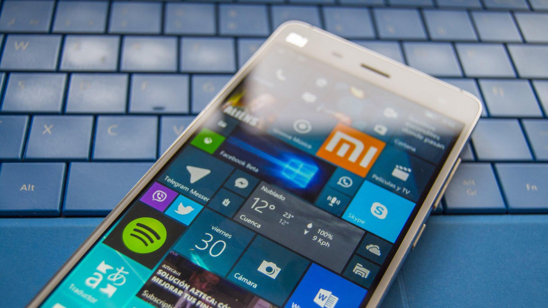 Microsoft planea conquistar Asia con el Xiaomi Mi 4
