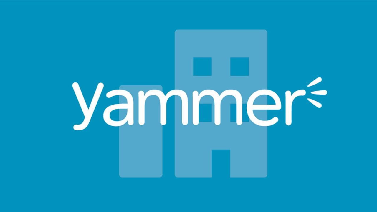Logo de la red social Yammer