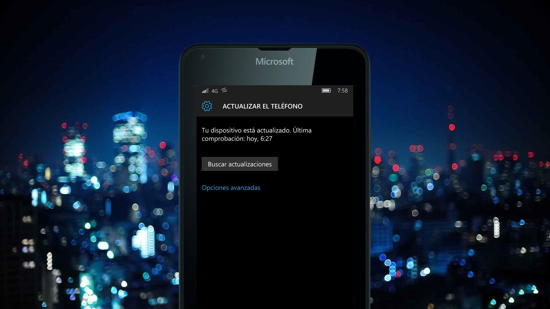 Una nueva actualización llega a Windows 10 Mobile
