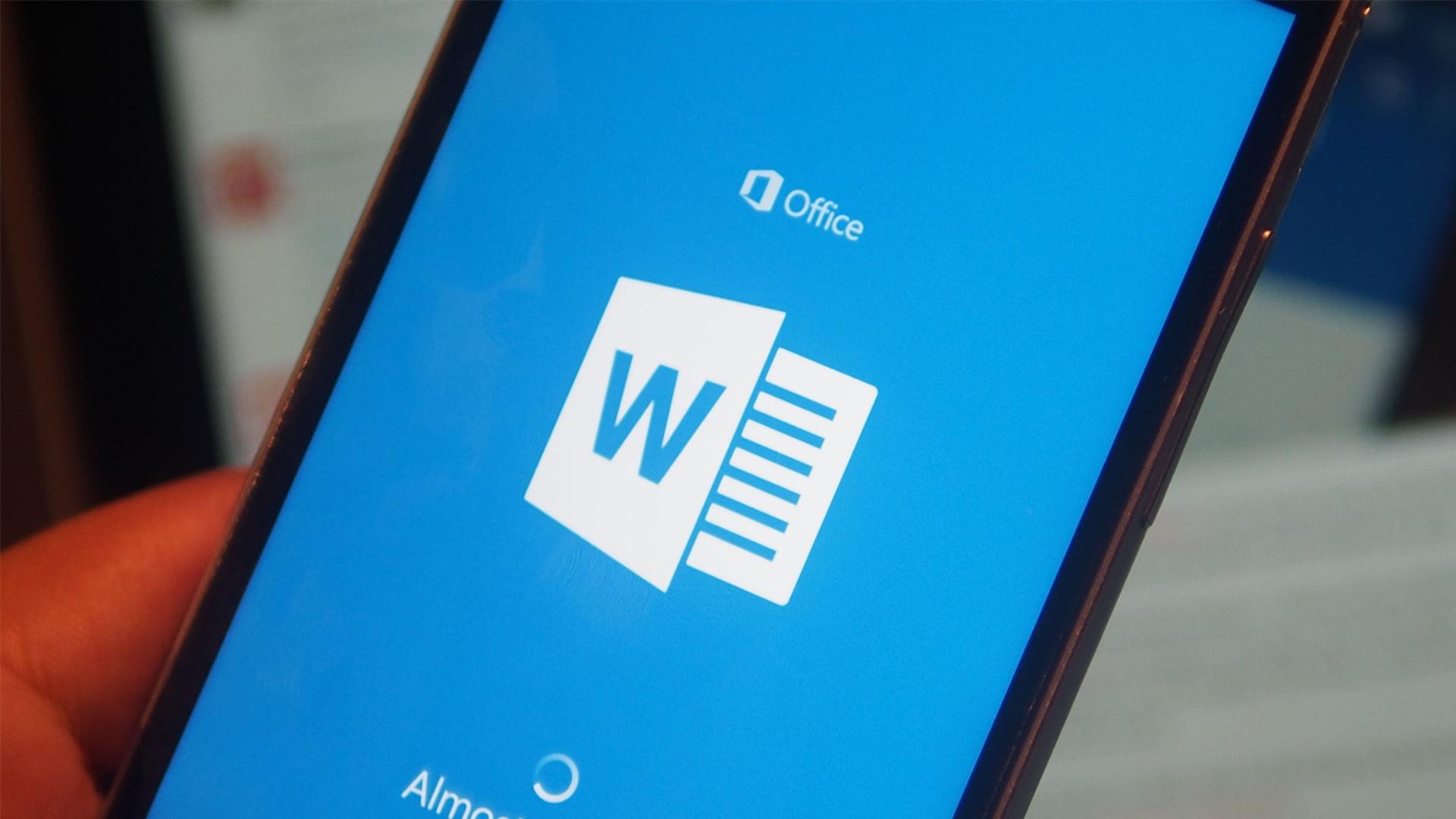 Nuevas opciones para las anotaciones dentro de Word para móviles