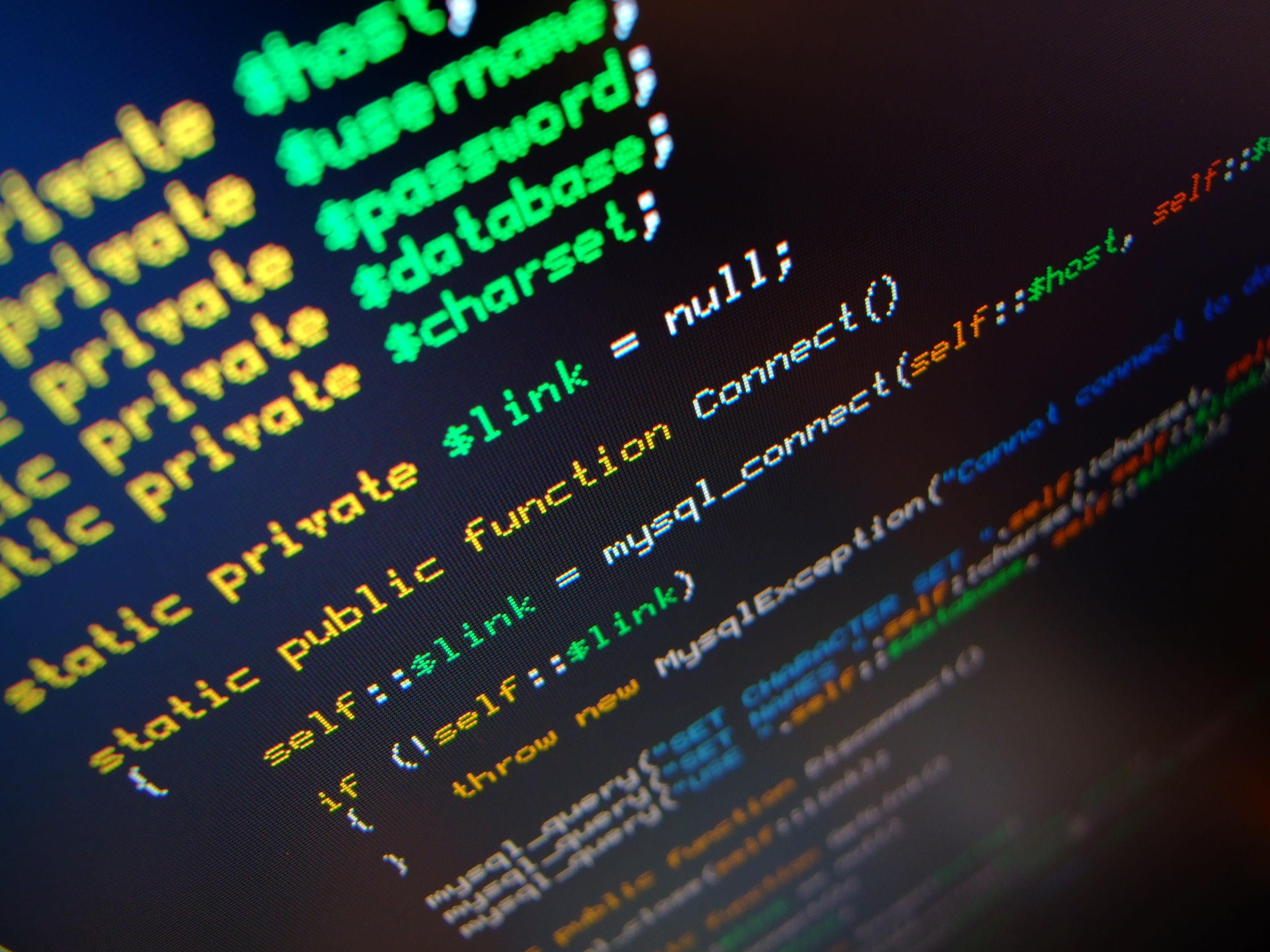 Código fuente de un programa