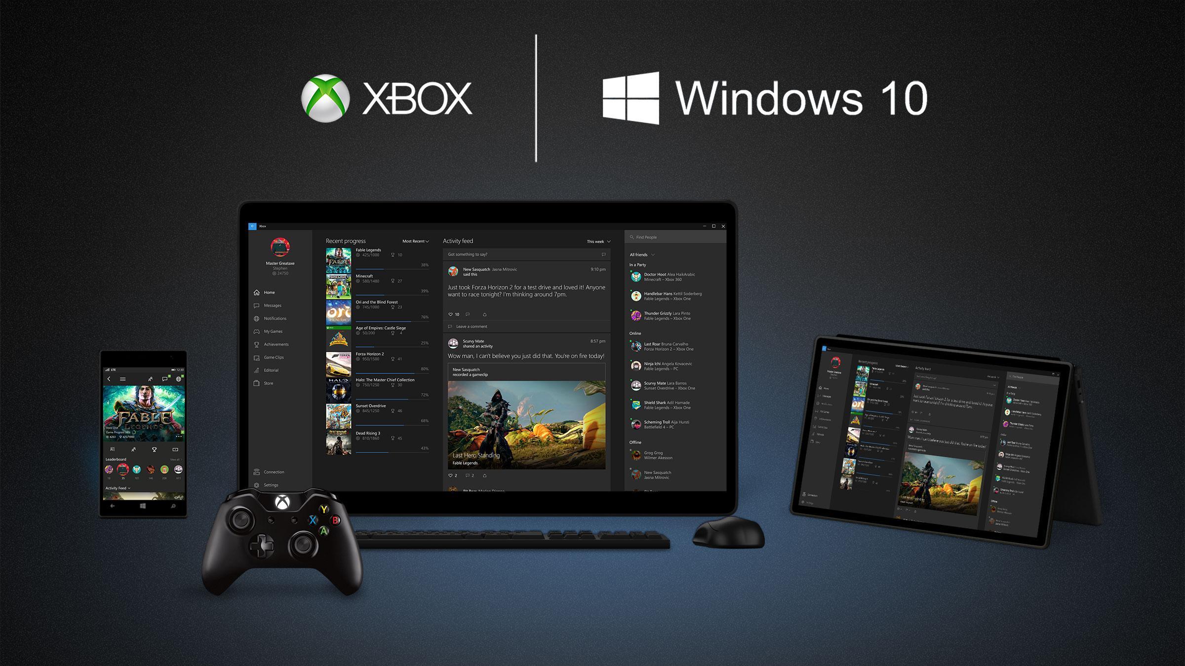 Los juegos de Xbox One comienzan a aparecer en la tienda de Windows 10