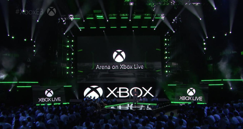 Escenario del evento de Xbox en el E3