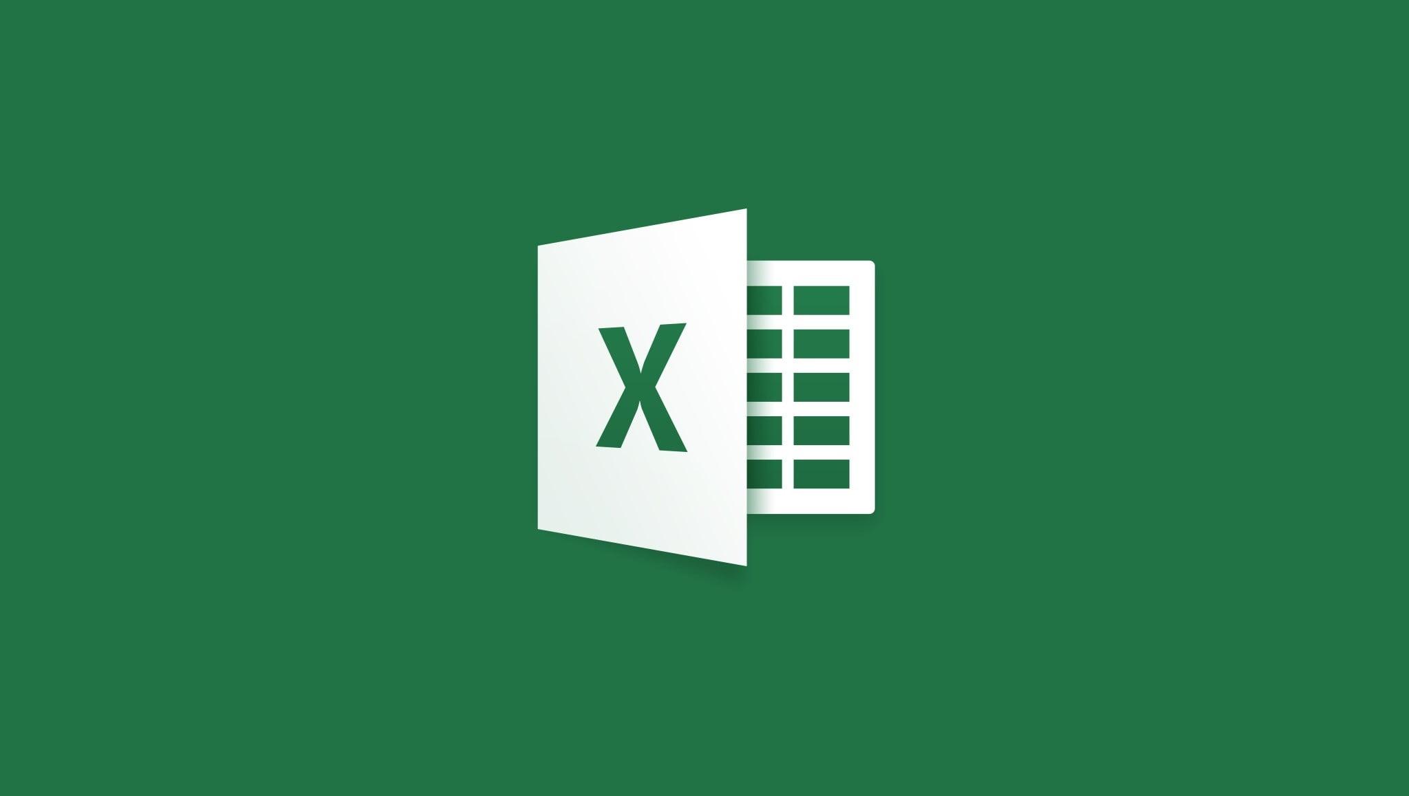 Splash screen de Excel para iOS