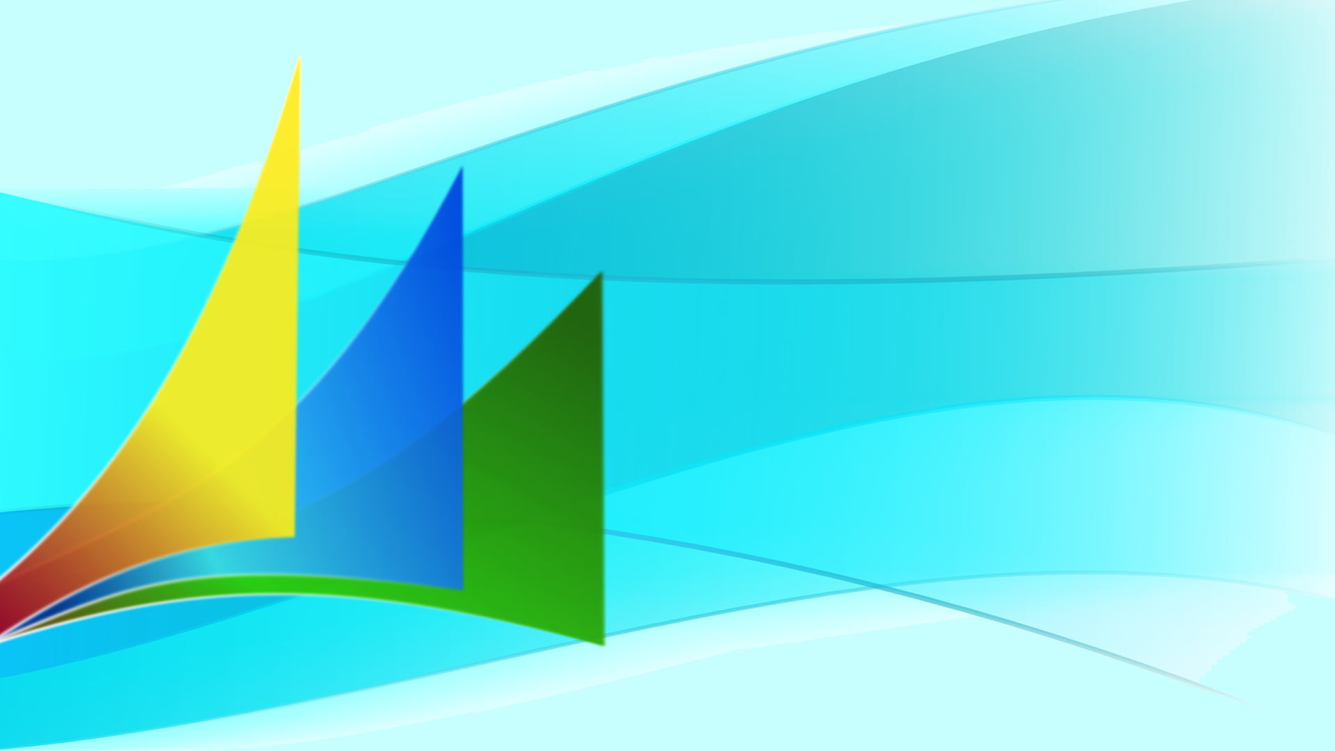 Logo de Dynamics sobre fondo azul