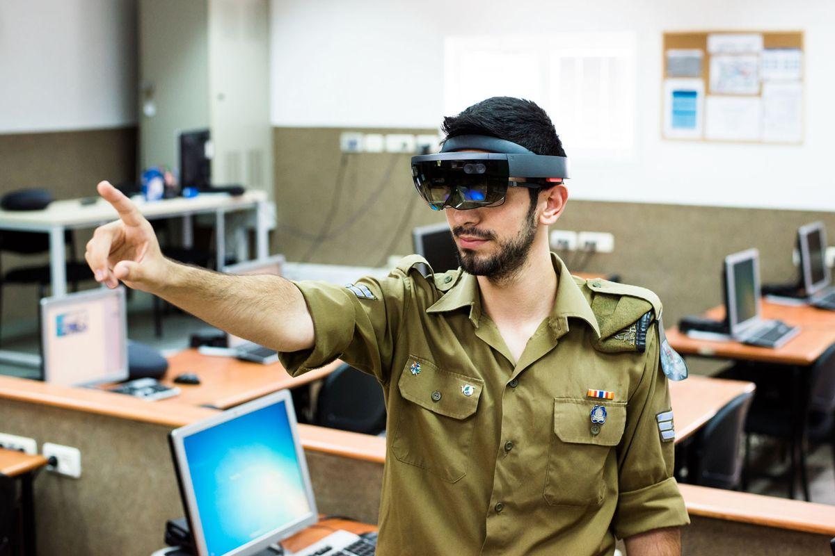 El ejército israelí adopta HoloLens