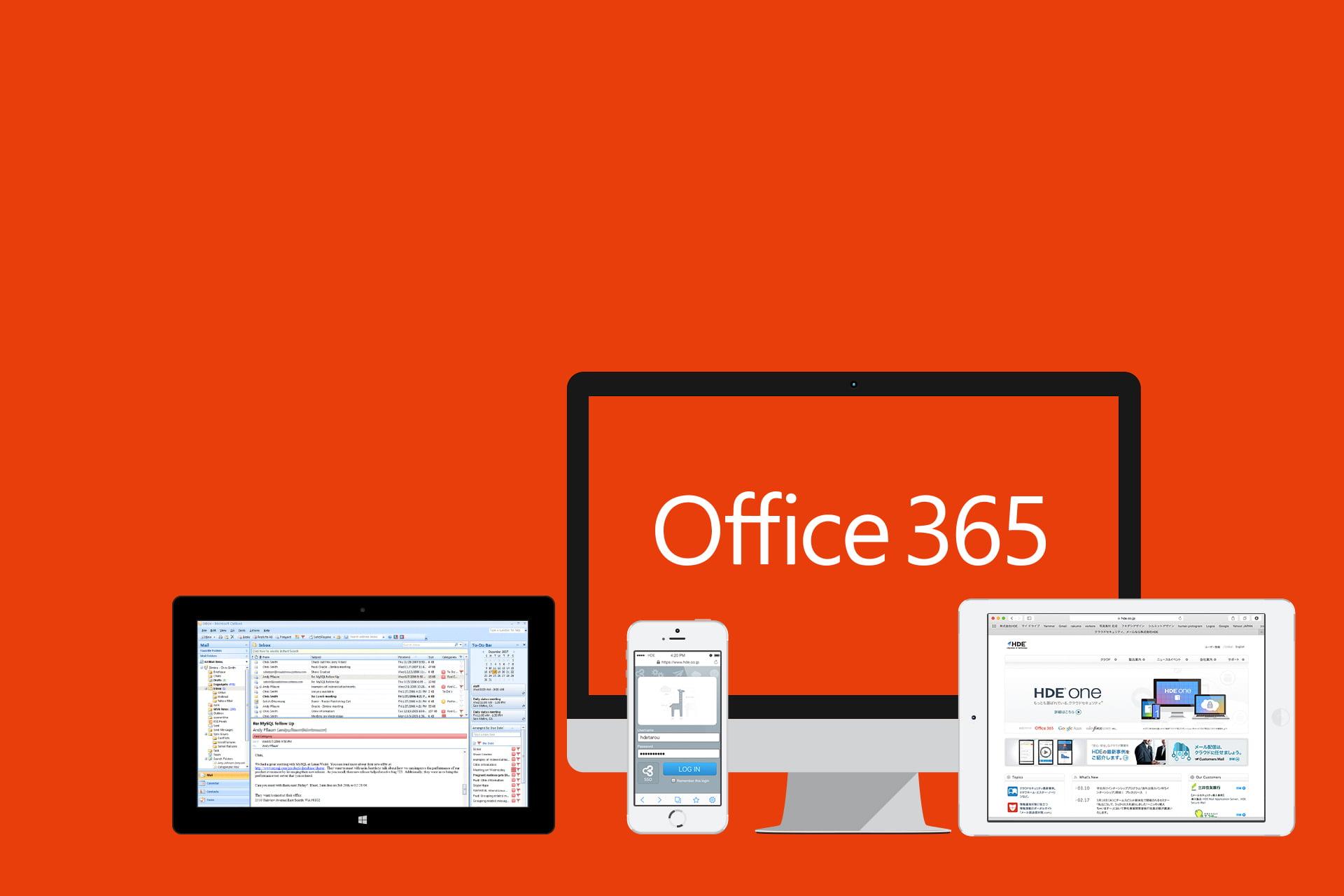 Office en varios dispositivos