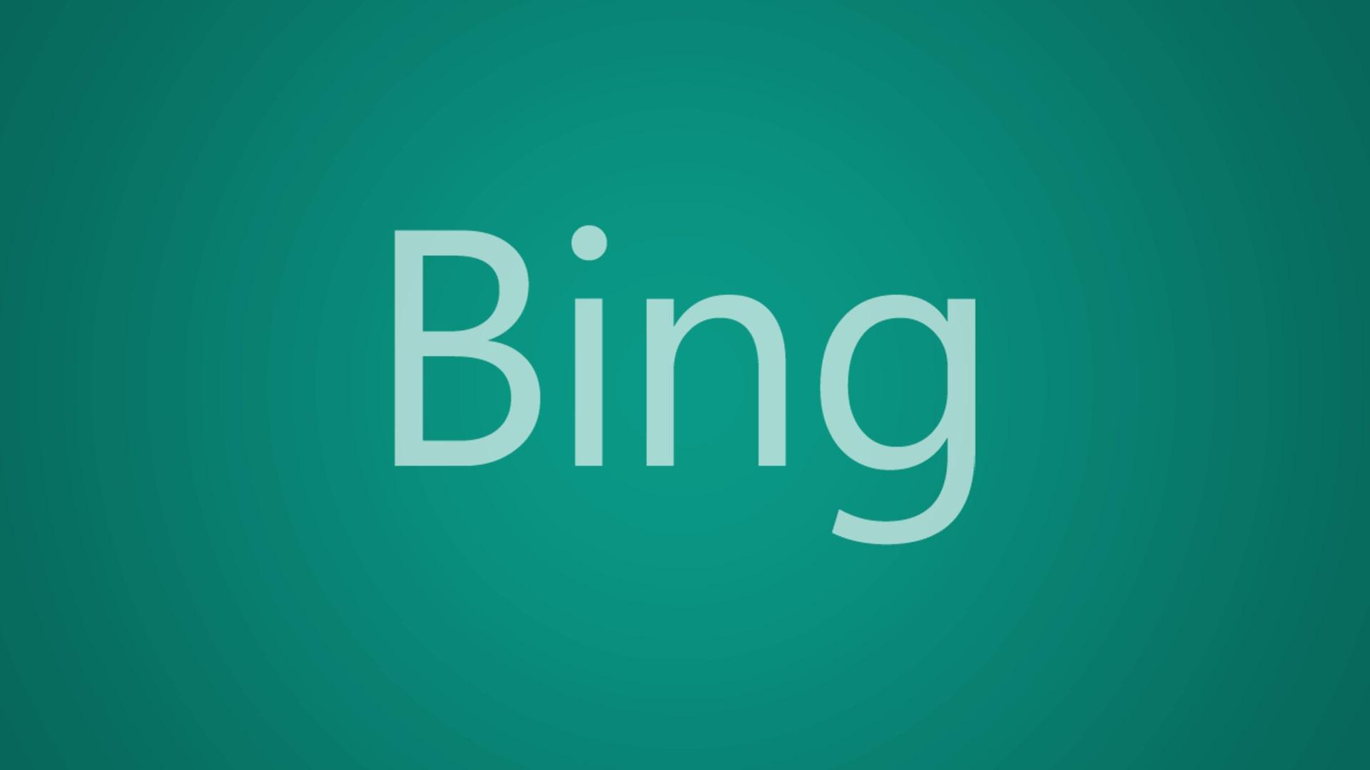 Logotipo de Bing