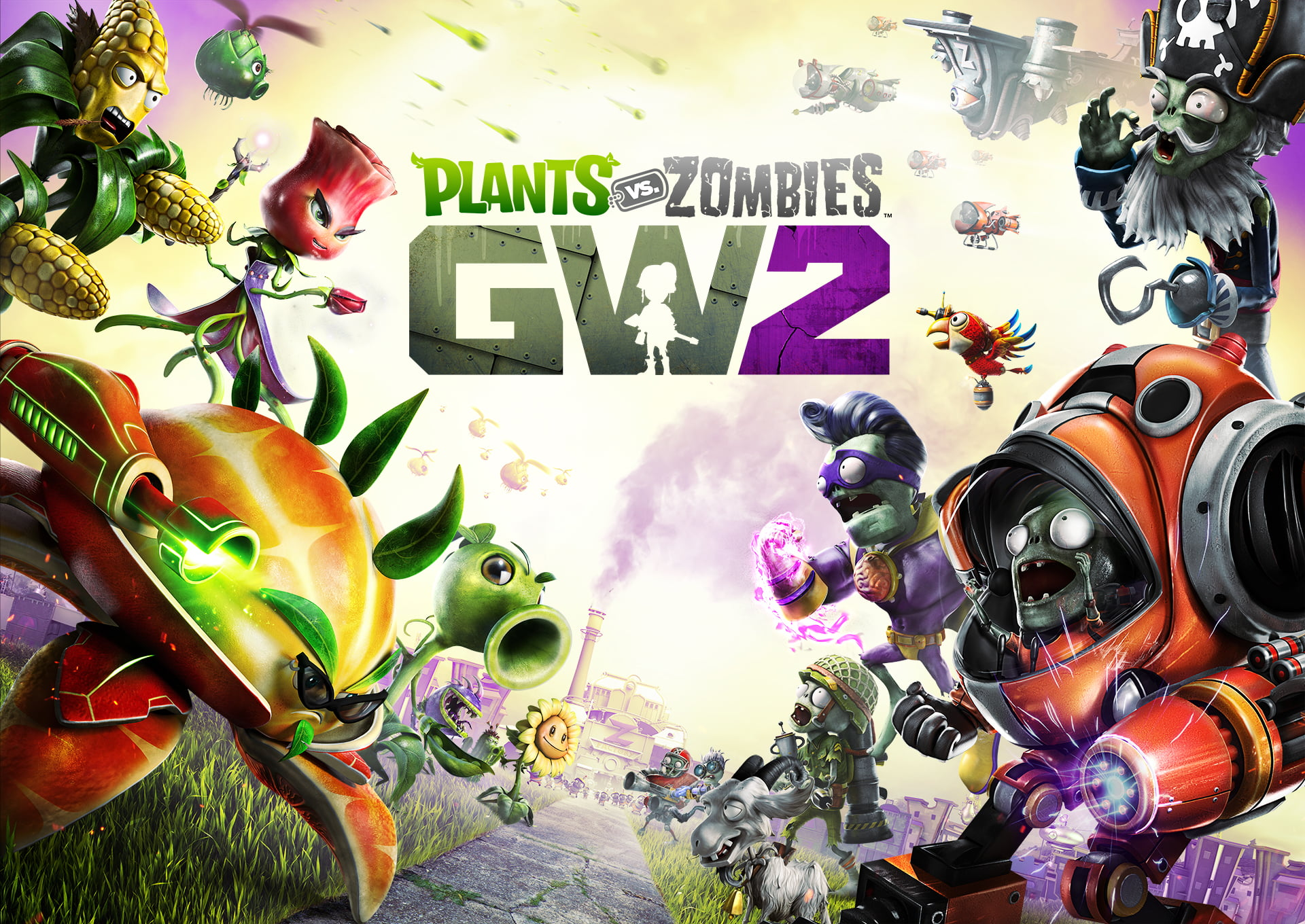 Imagen promocional de Plants vs Zombies Garden Warfare 2