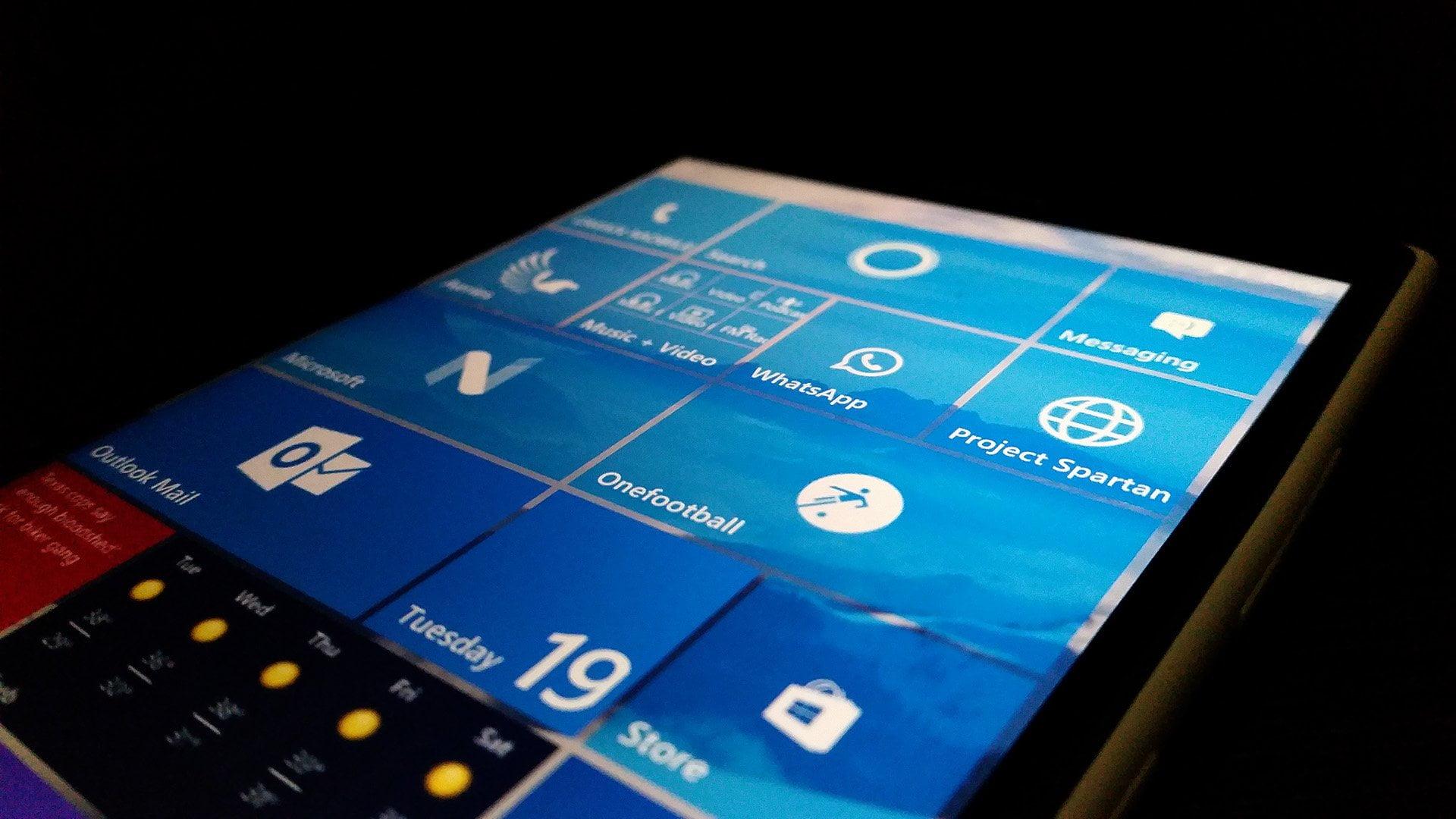 Sistema operativo en Lumia 1520