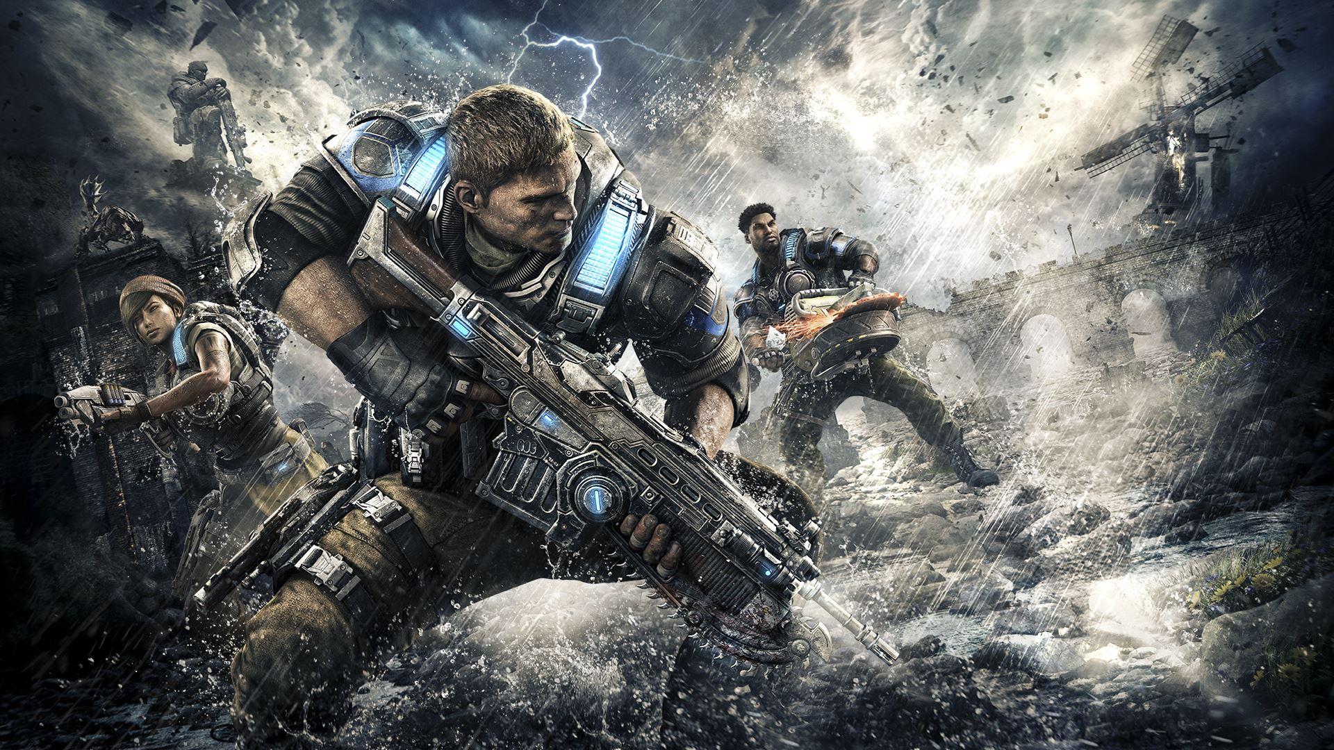Portada Gears of War 4