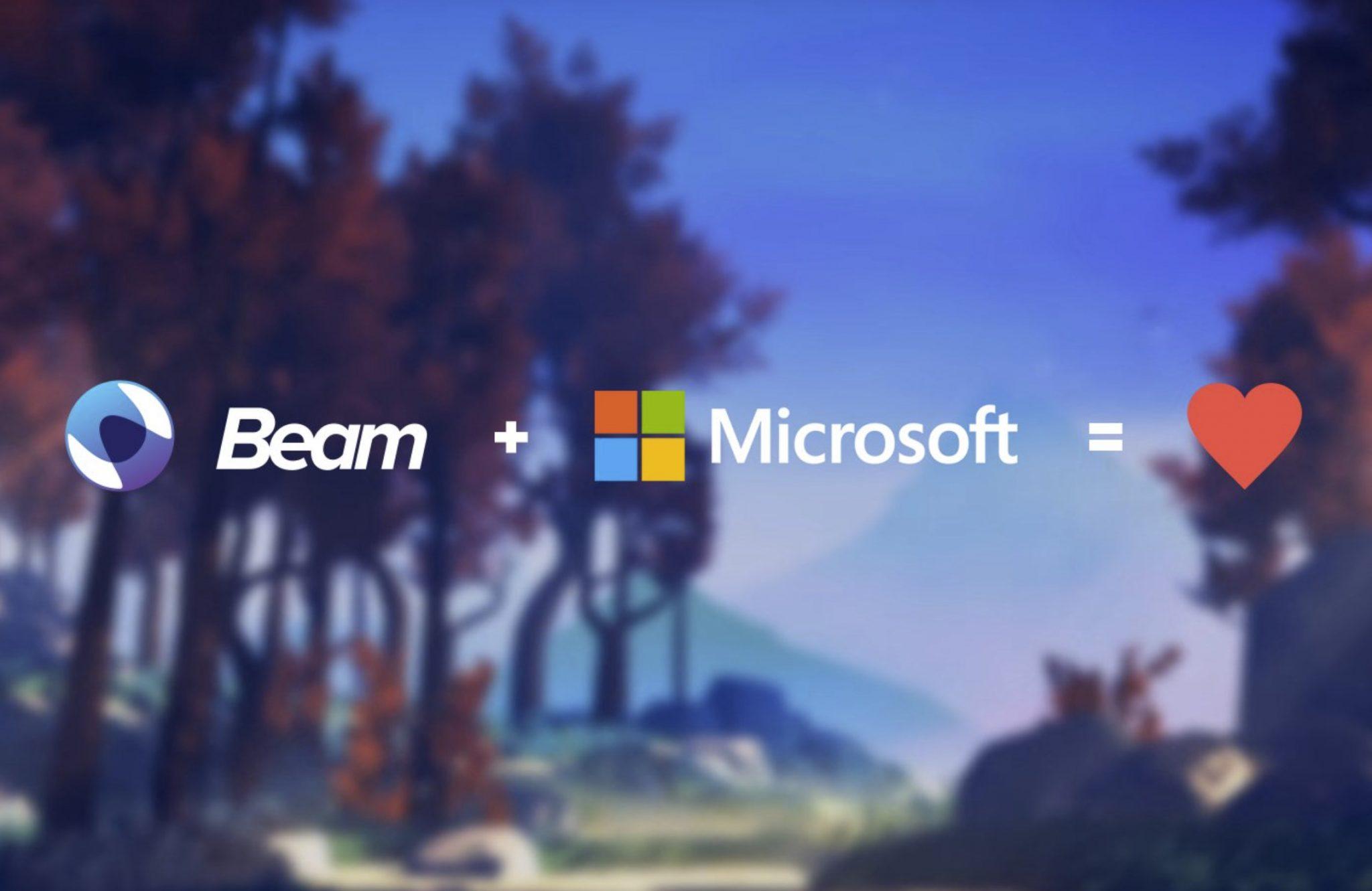 Beam es comprado por Microsoft