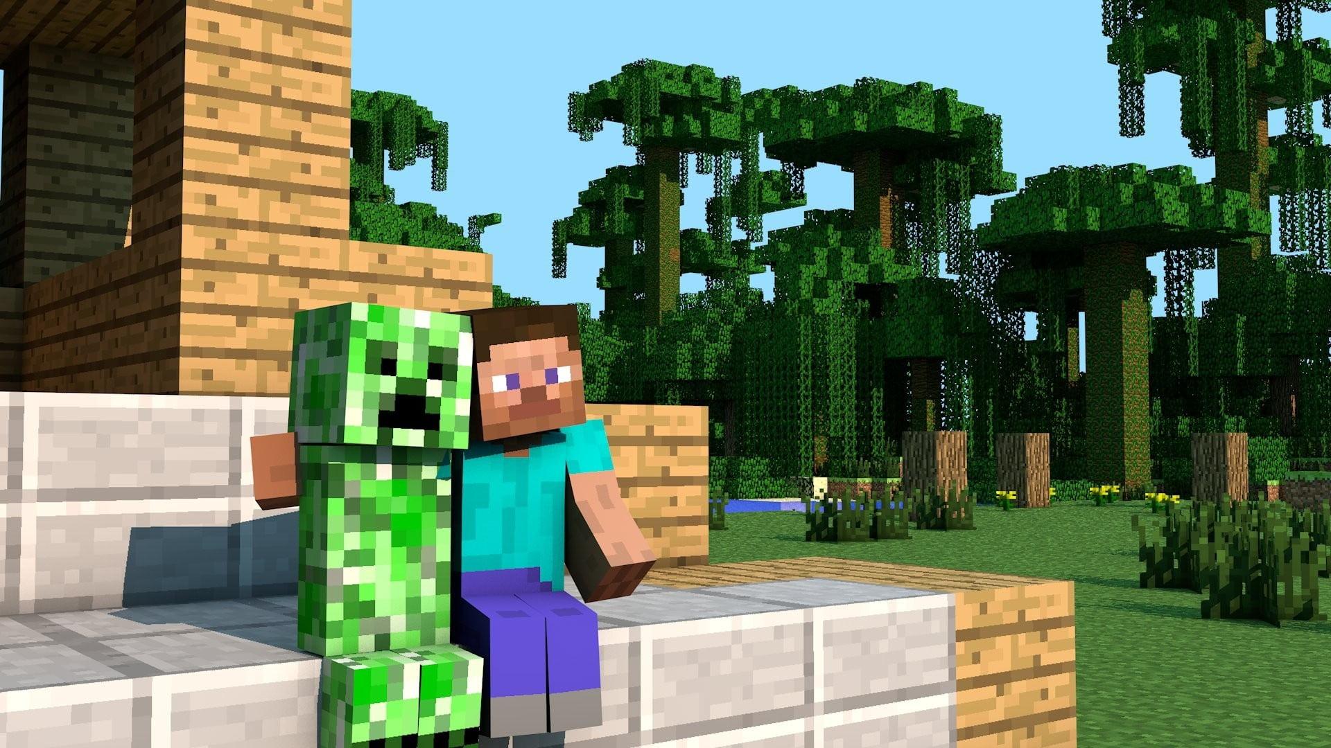 Creeper y Steve